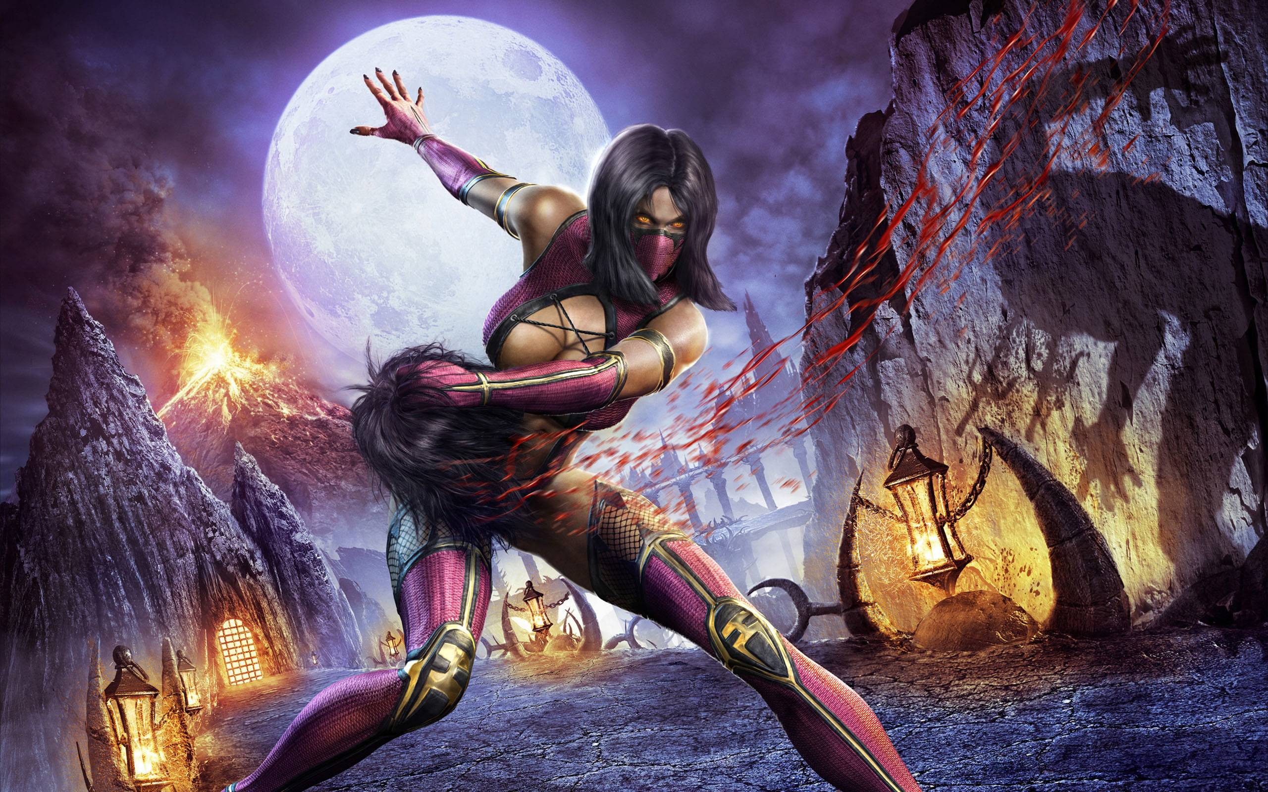 2560x1600 Free New Mortal Kombat X Mileena HD Wallpaper because theDesktop Background  Image for yourportable computer,