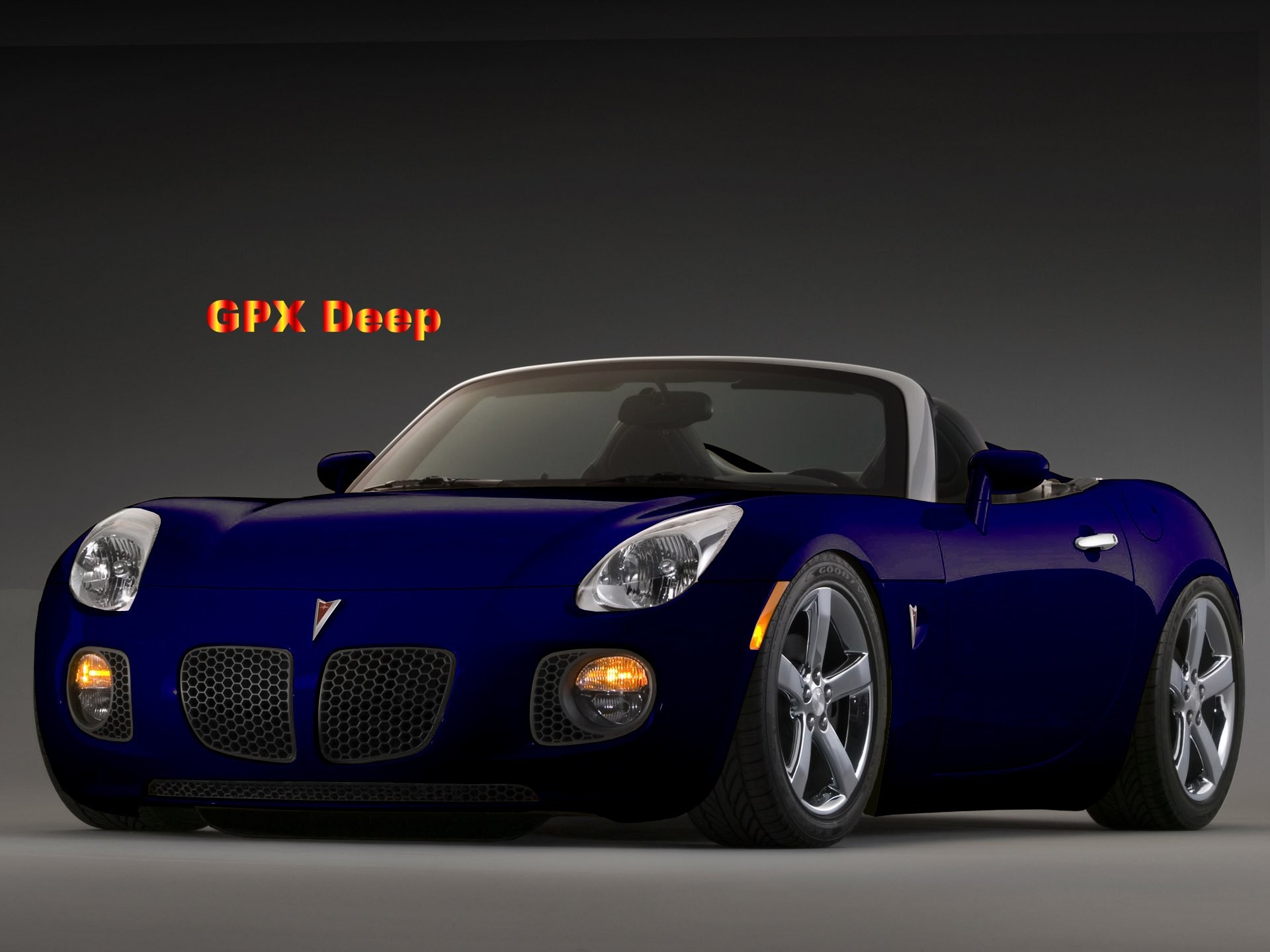 1920x1440 ... Cars Wallpapers Pontiac Deep Blue Pontiac Solstice 2006