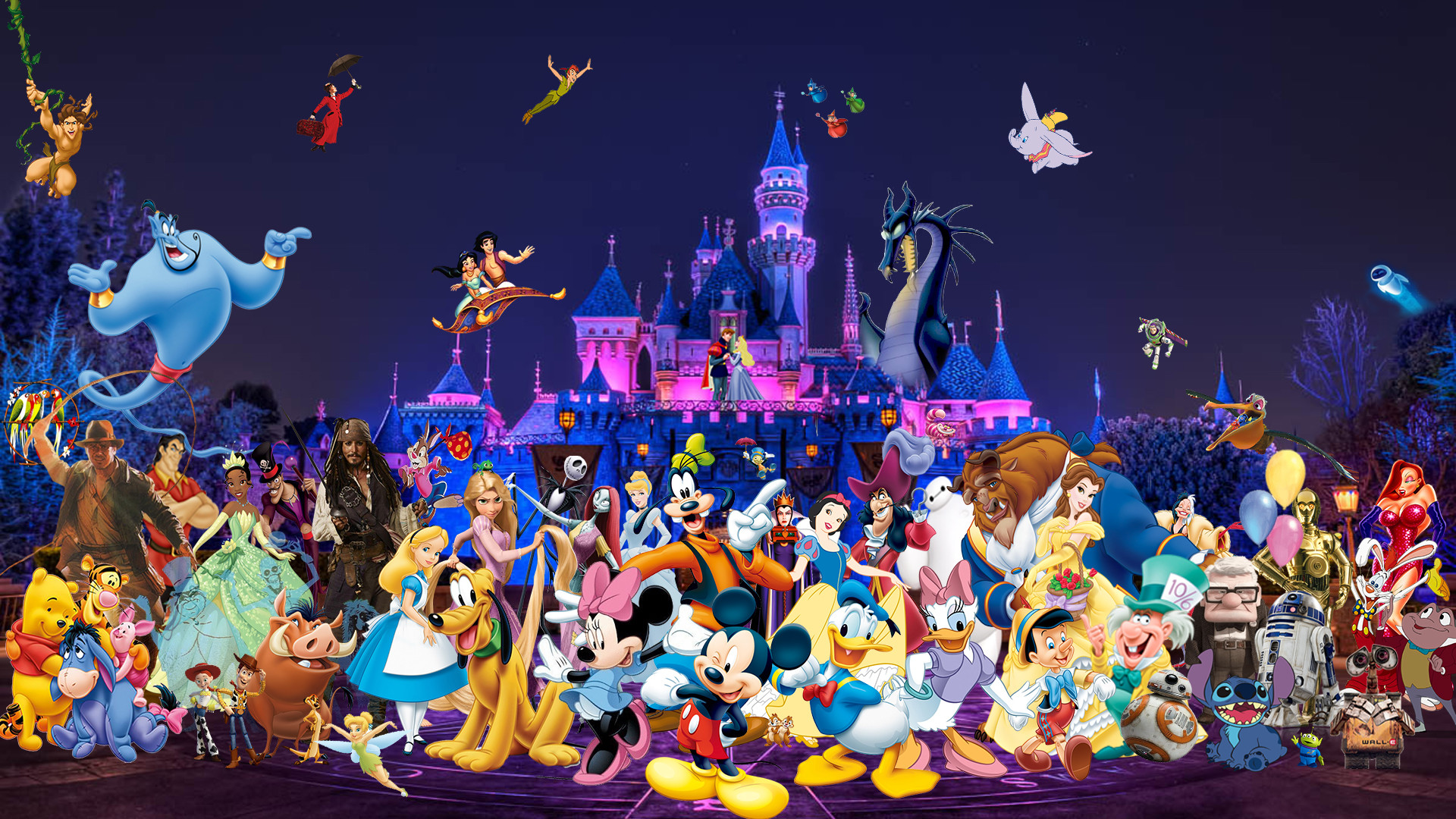 1920x1080 ... Disneyland Wallpaper by The-Dark-Mamba-995