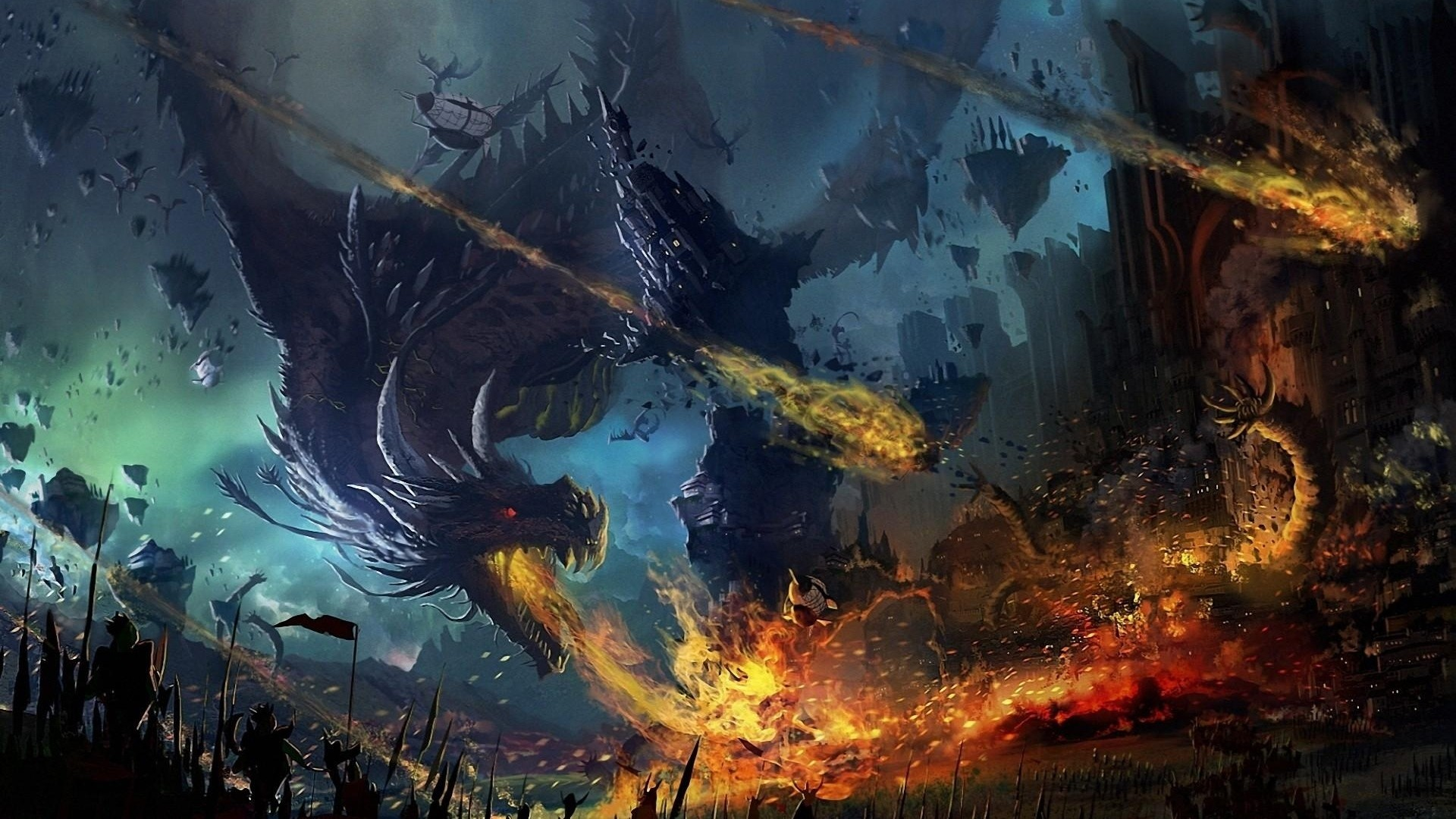 1920x1080 Wallpaper: Dragon Wallpaper 1920x1080 (70+ Images