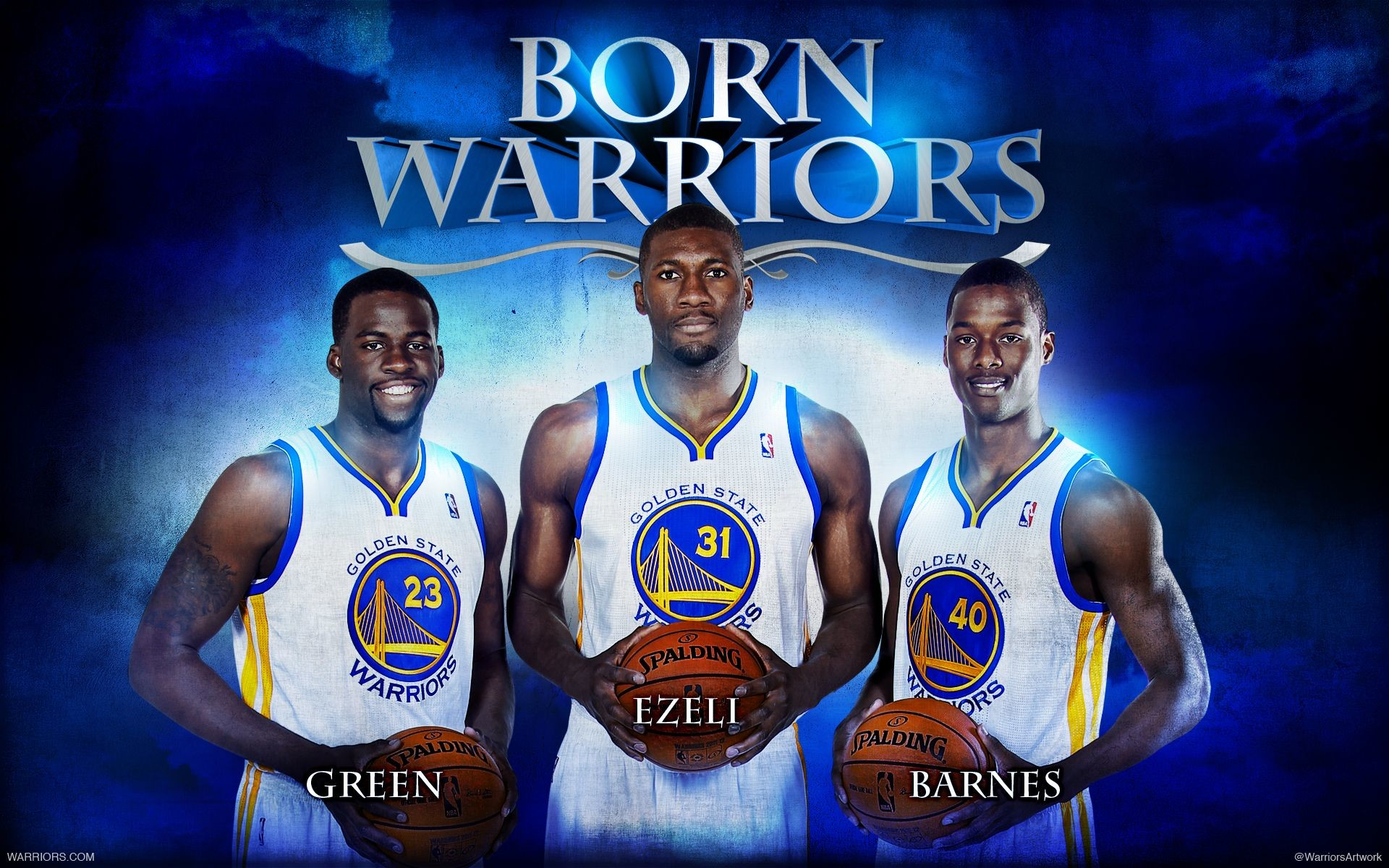 1920x1200 Warriors 2012-13 Rookies: Draymond Green, Festus Ezeli and .