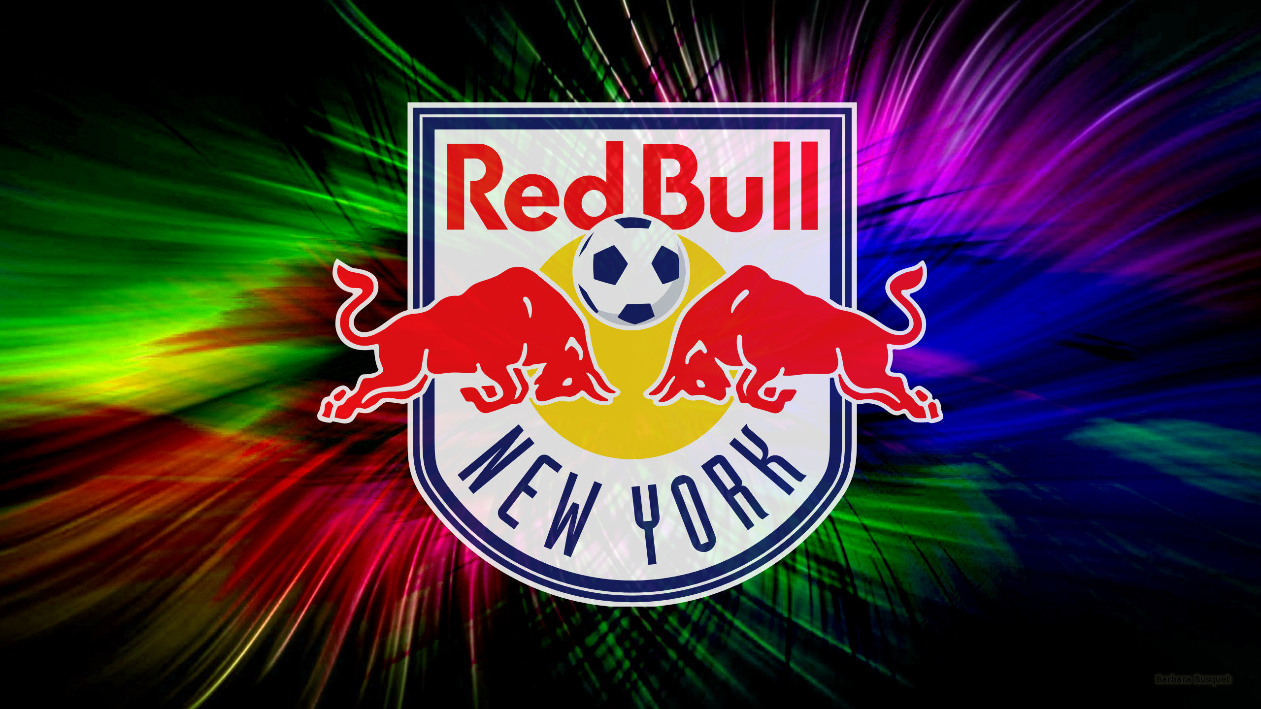 2560x1440 Colorful New York Red Bulls wallpaper