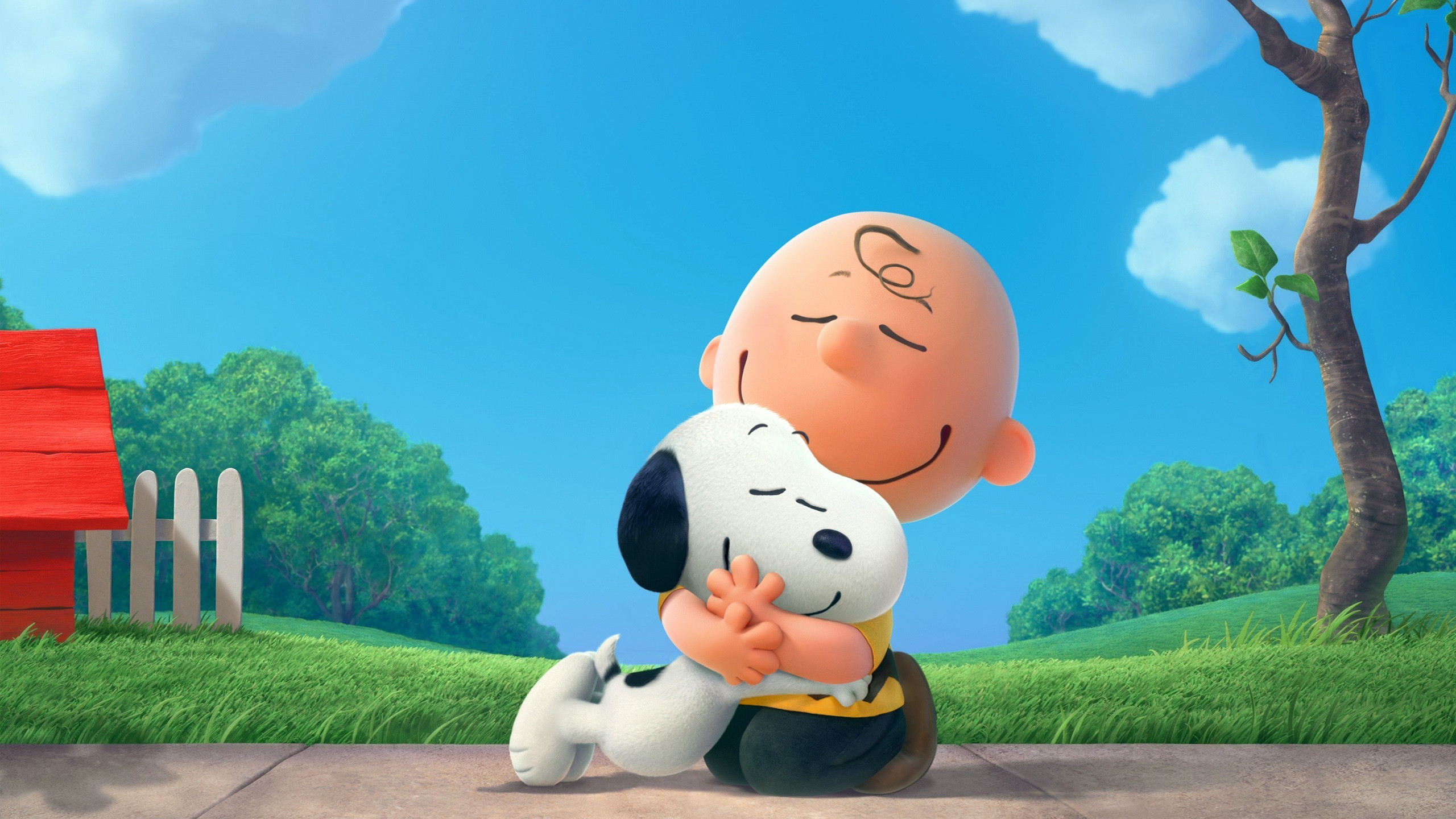 2560x1440 The Peanuts Charlie Brown Snoopy