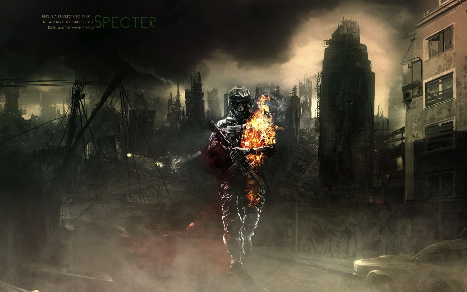 Destroyed City Background 62 Images