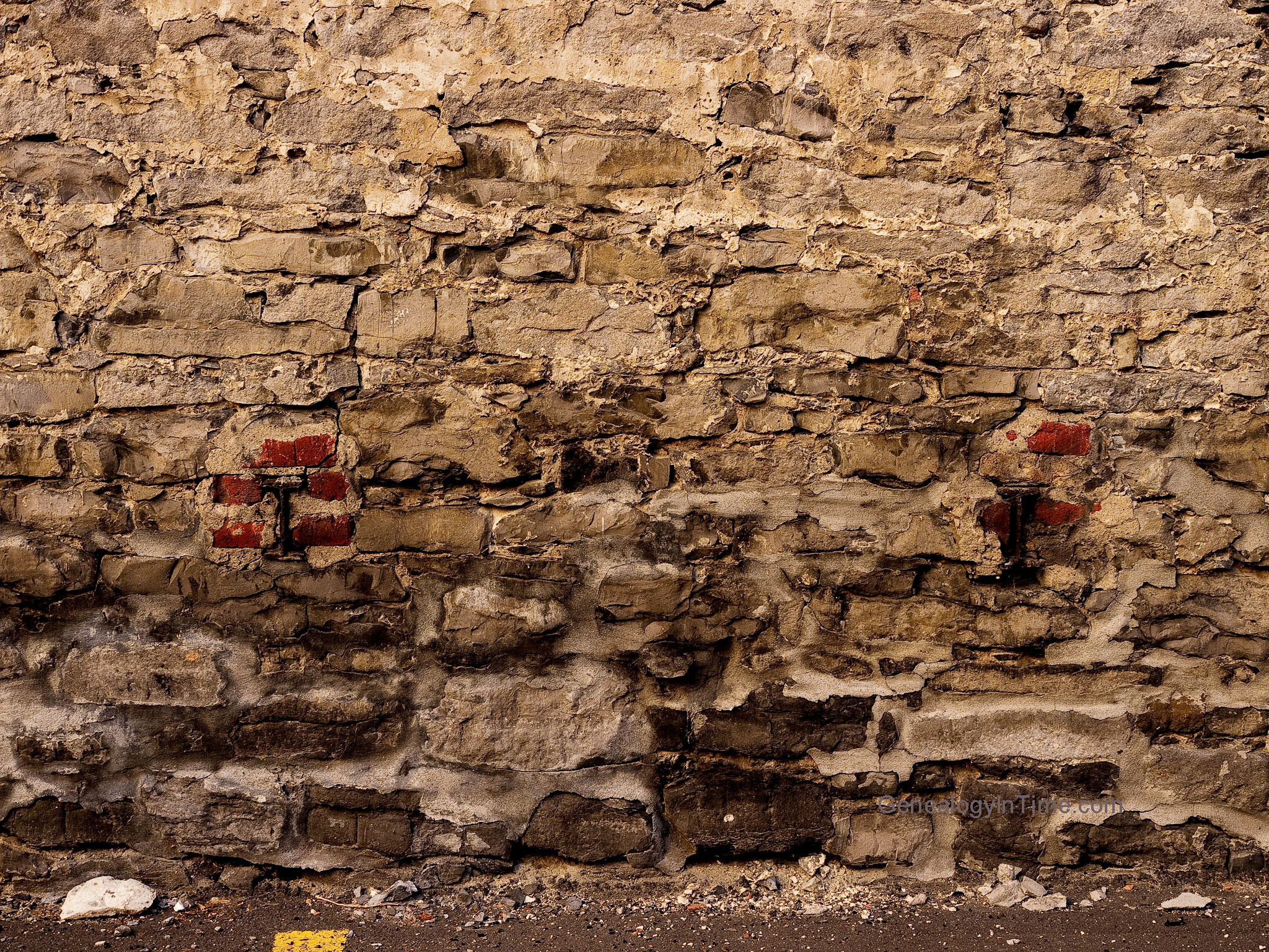 2048x1536 ... old peeling wall paper images | Old Brick Wall Wallpaper | Art ..