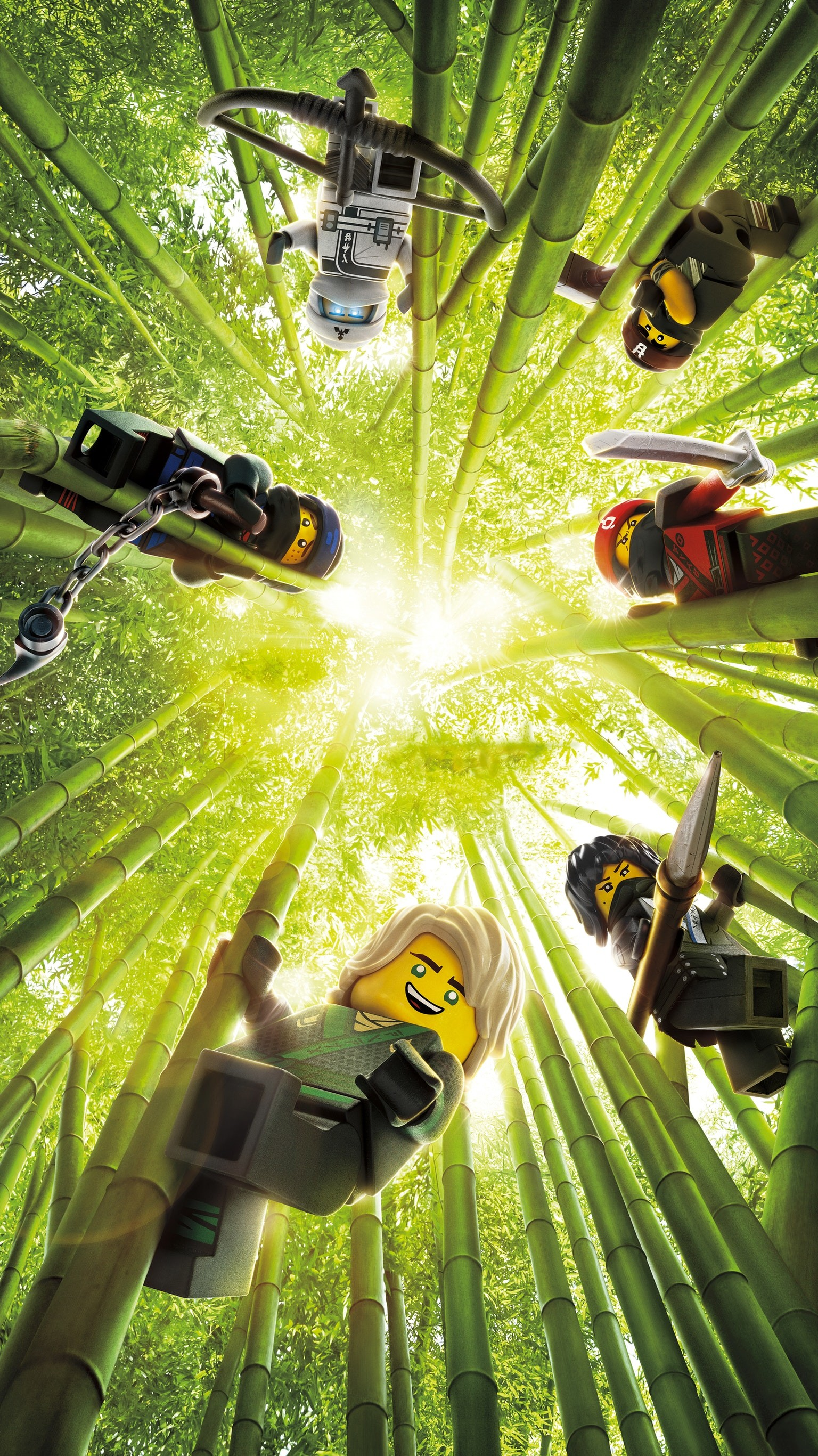 "1536x2733 Wallpaper for ""The LEGO Ninjago Movie"" ..."