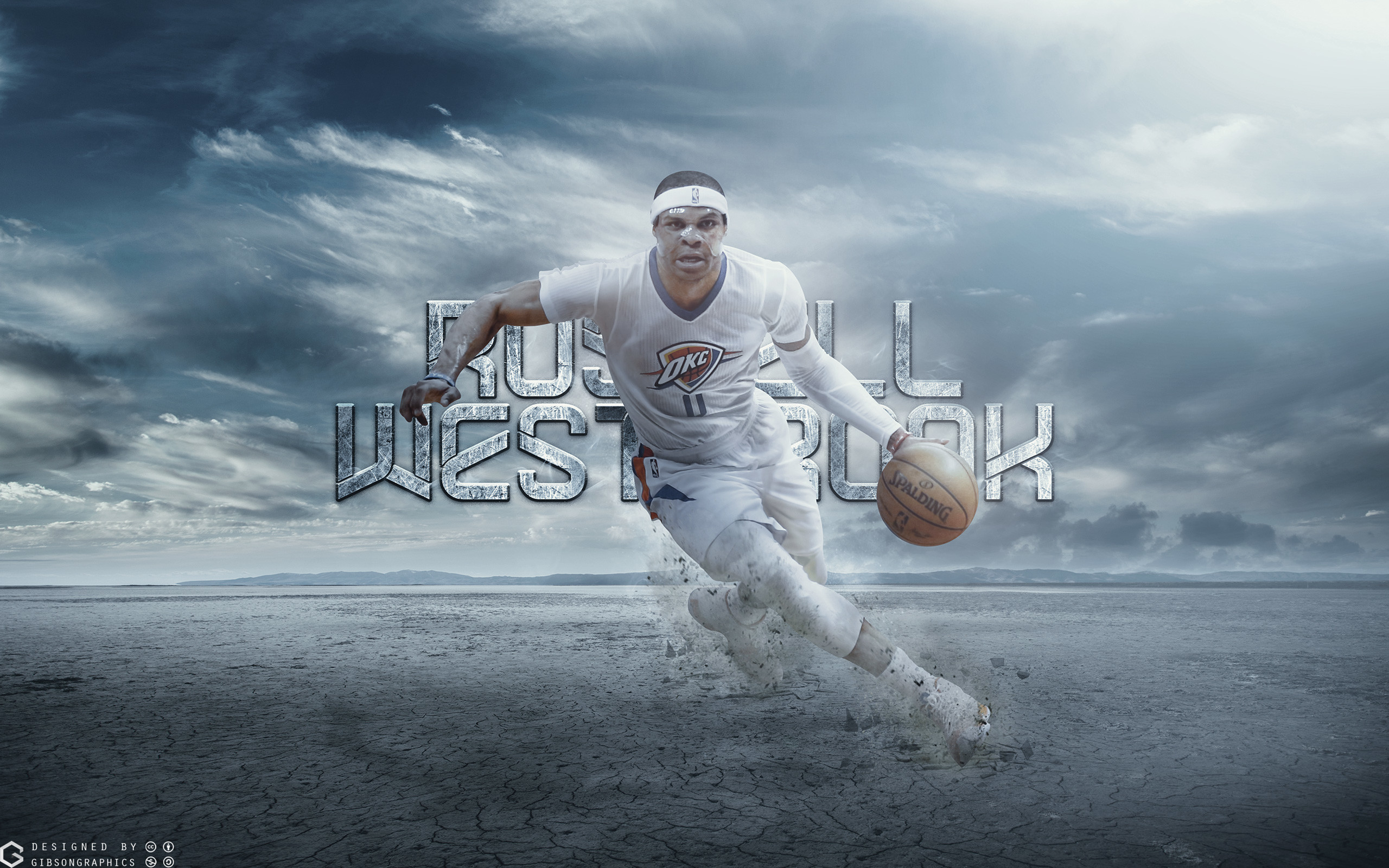 2560x1600 Russ Westbrook Thunder 2015 2560×1600 Wallpaper