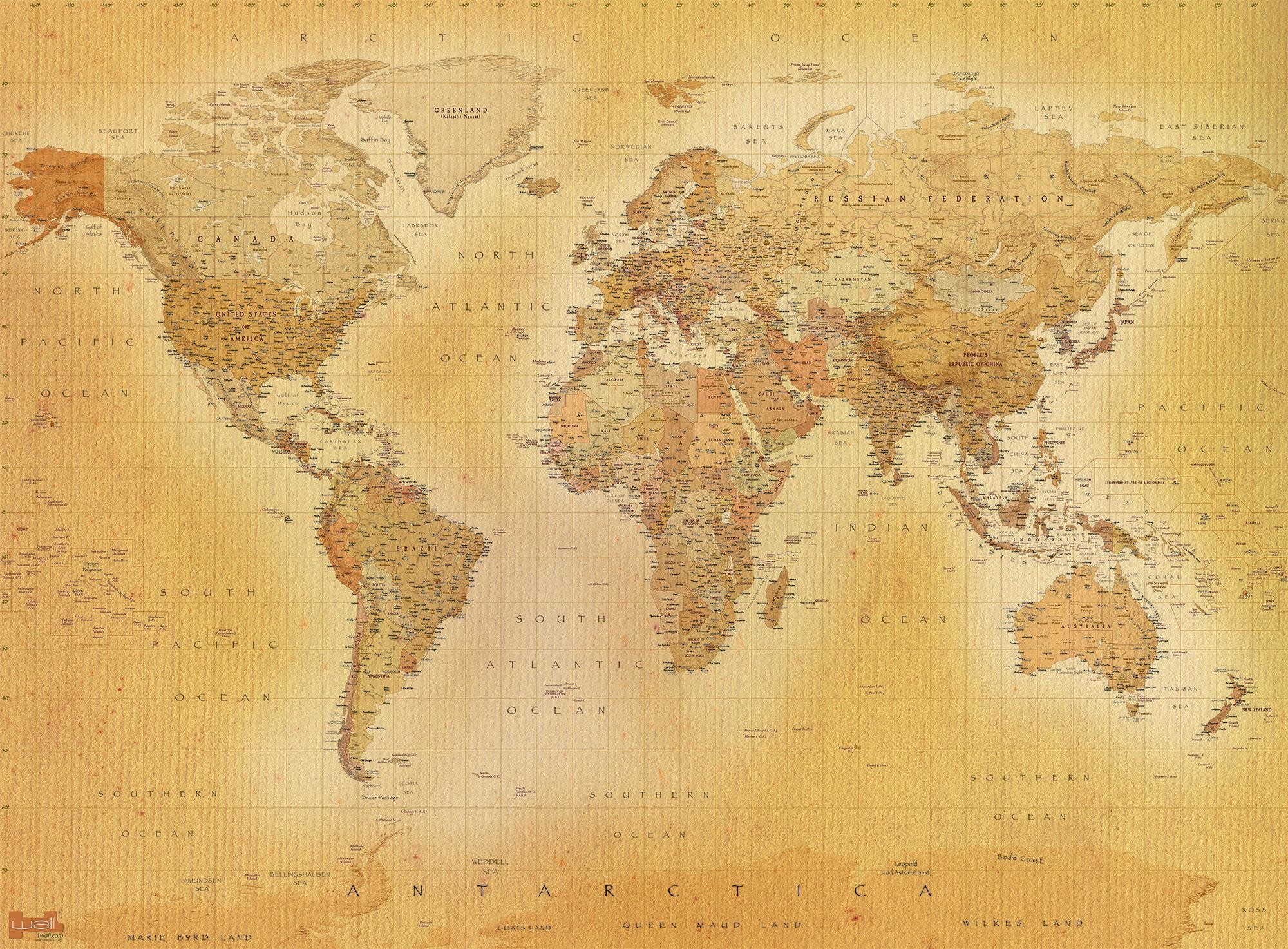 Antique world map wallpaper 39 images 2000x1473 wallpaper download antique map picture 1 pic gumiabroncs Image collections