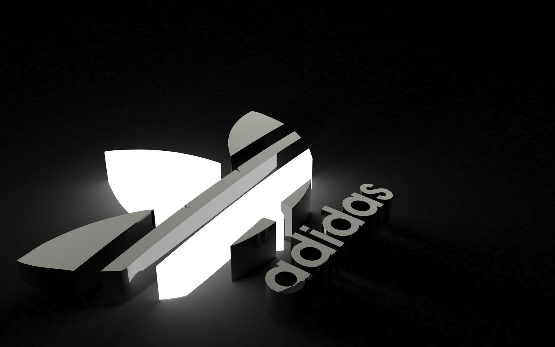 1920x1200 New HD Adidas Light Logo Wallpaper