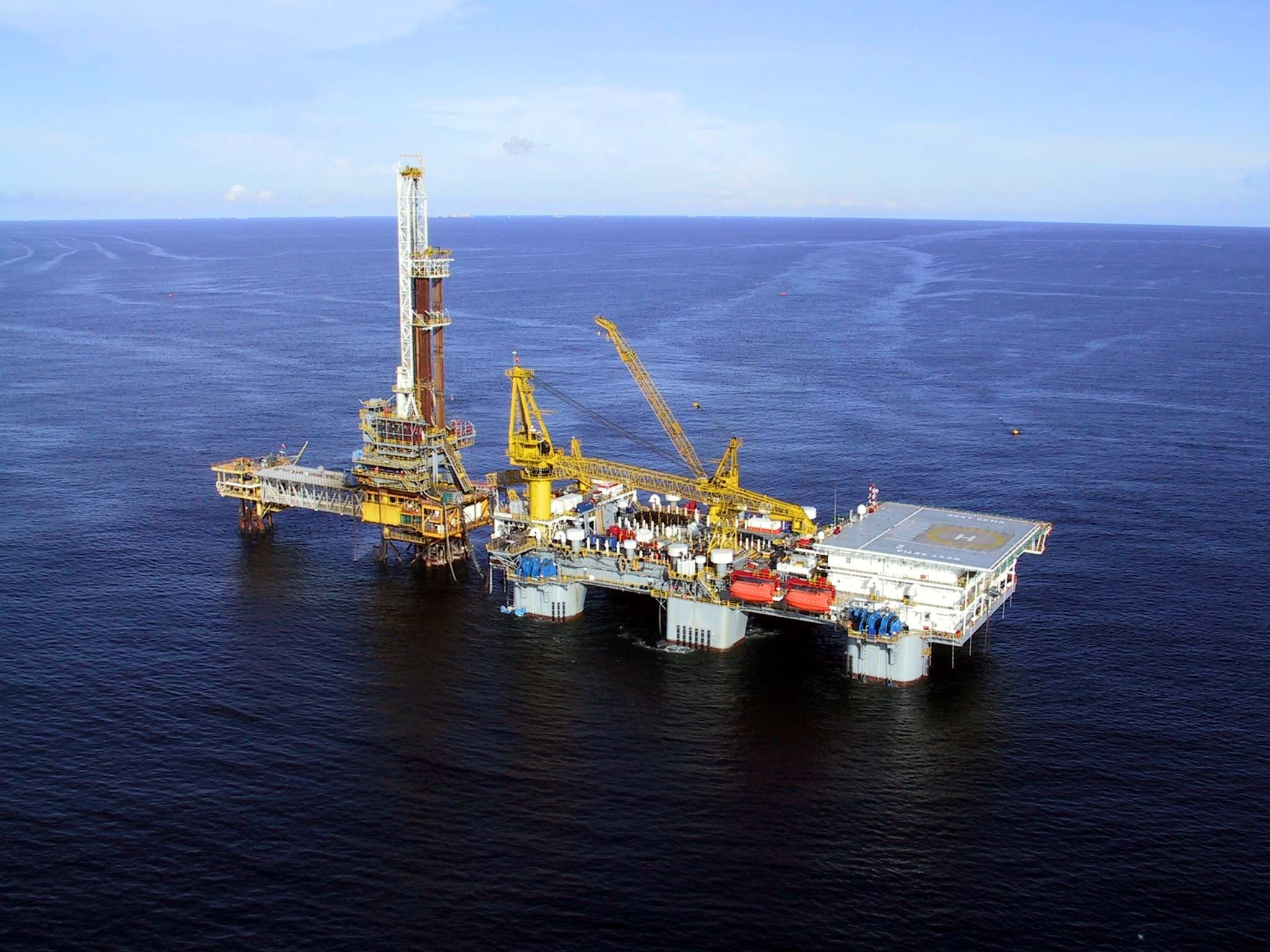 2048x1536 OIL GAS RIG platform ocean sea ship boat 1orig wallpaper |  |  847466 | WallpaperUP