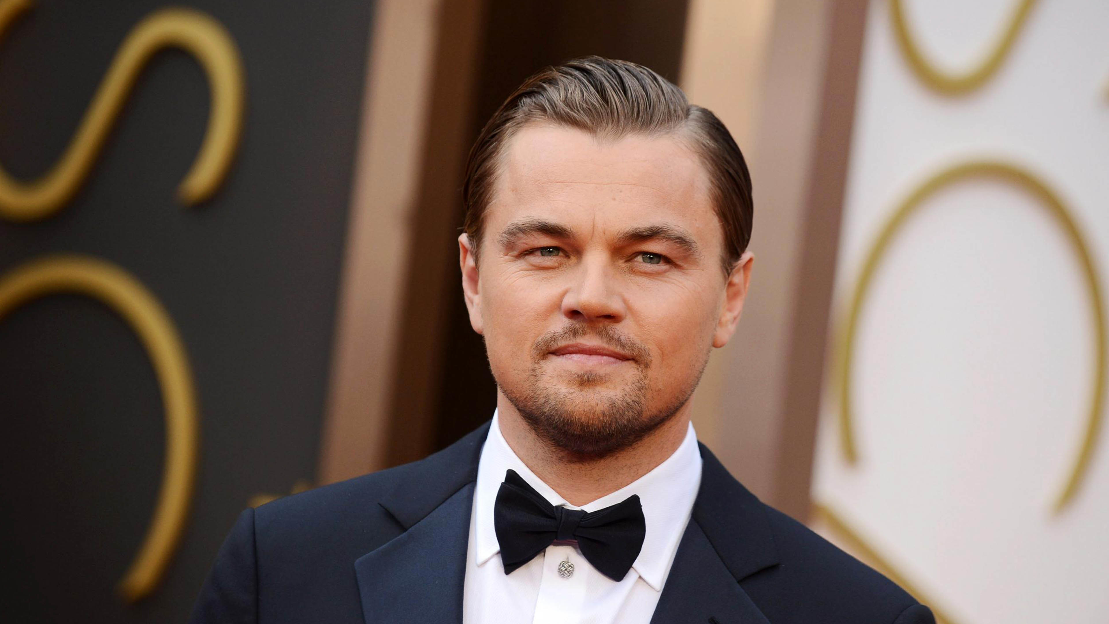 3840x2160 Leonardo DiCaprio at an event  wallpaper