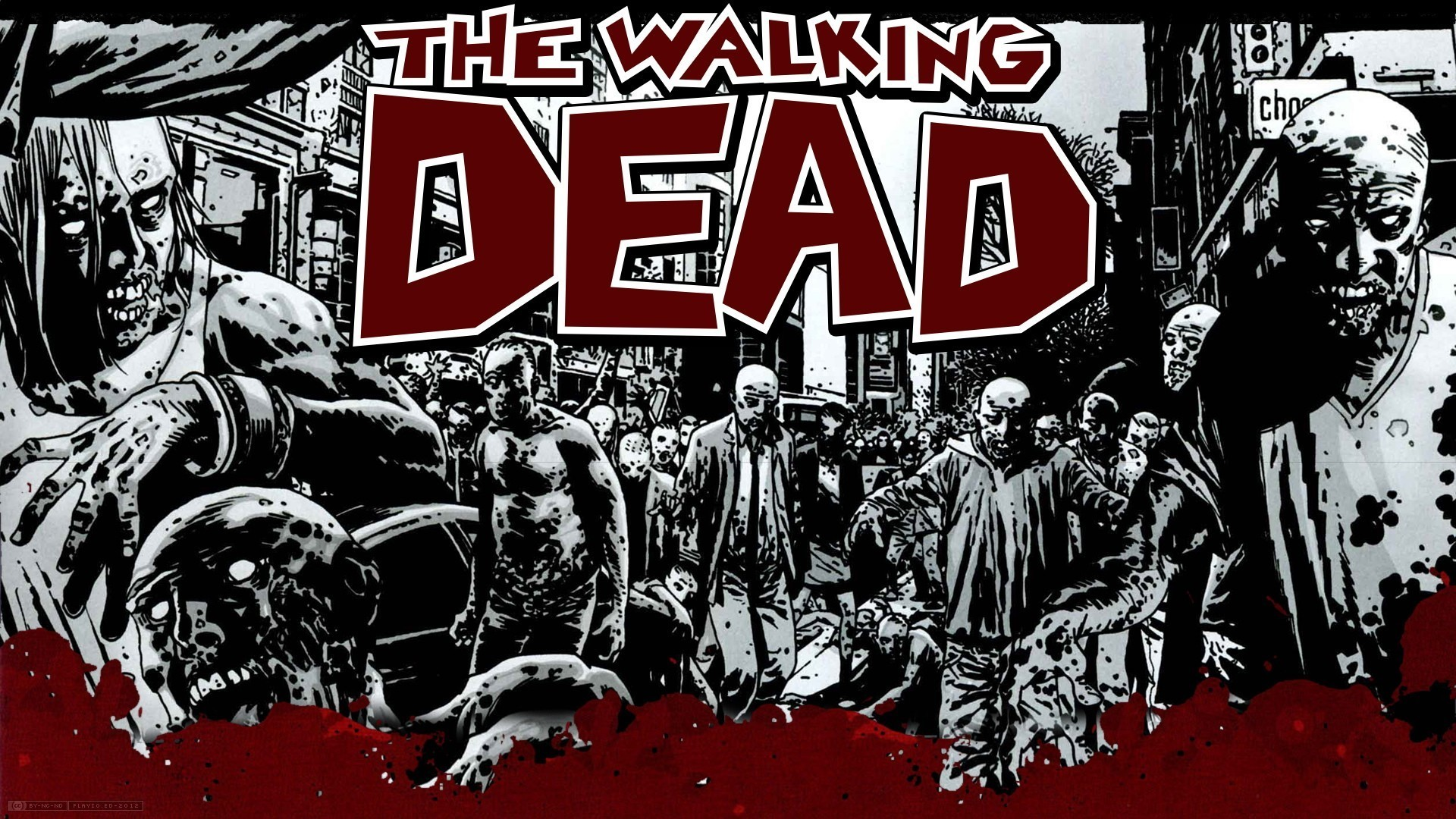 The walking dead iphone wallpaper 67 images 1920x1080 the walking dead season 4 wallpaper wallpaper download voltagebd Images