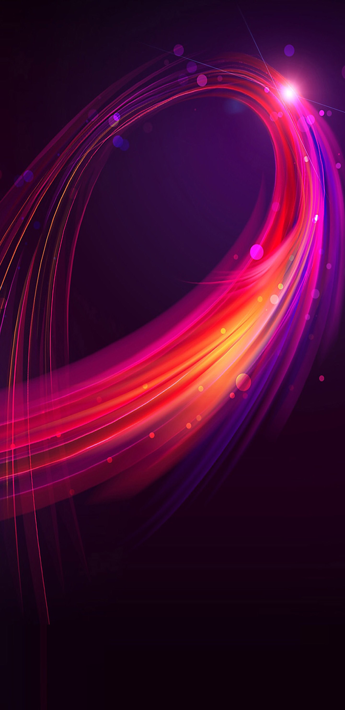 1440x2960 Blue, red, purple, minimal, abstract, wallpaper, galaxy, clean,