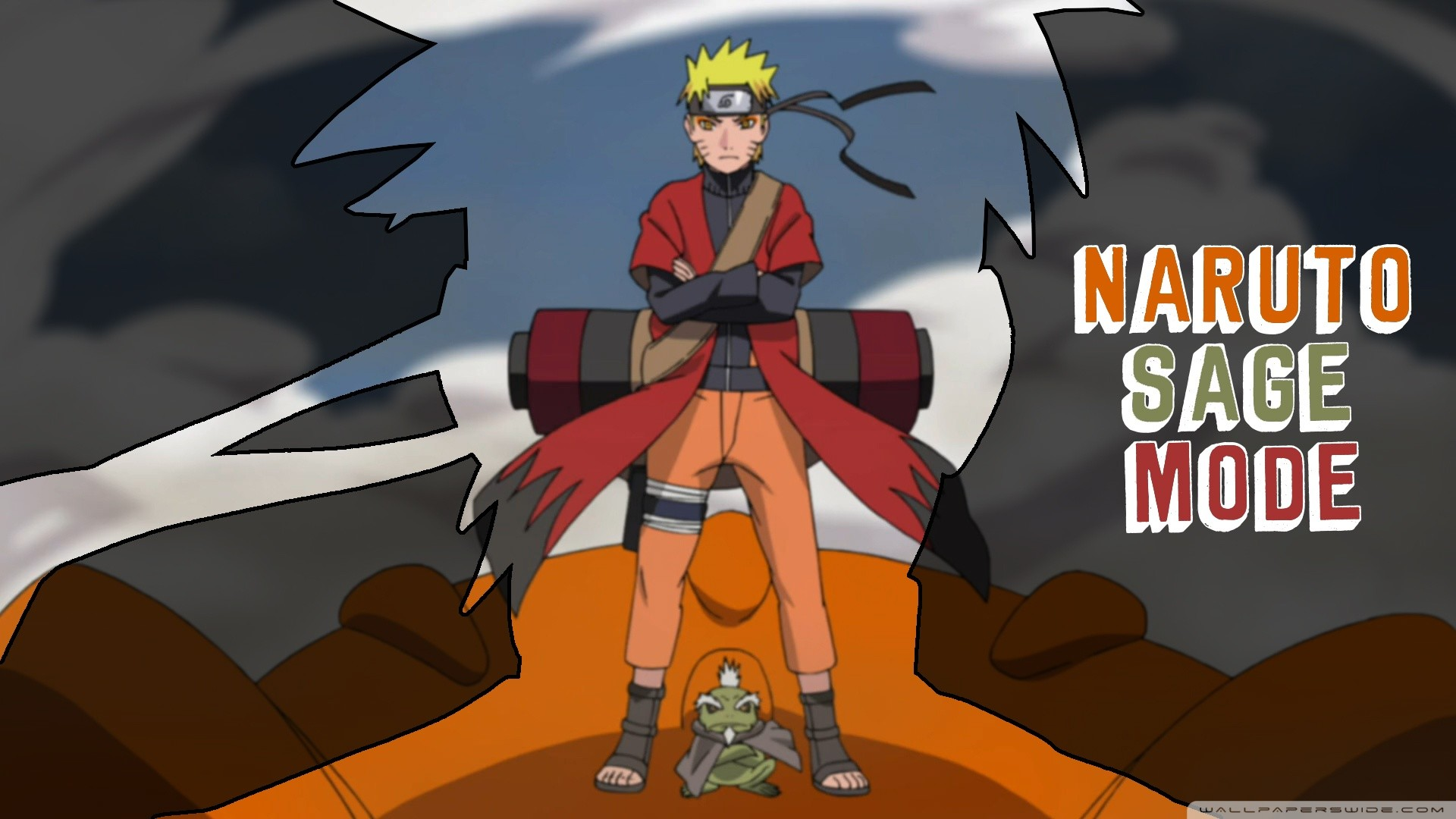 1920x1080 ... Naruto Sage Mode HD desktop wallpaper : High Definition ...