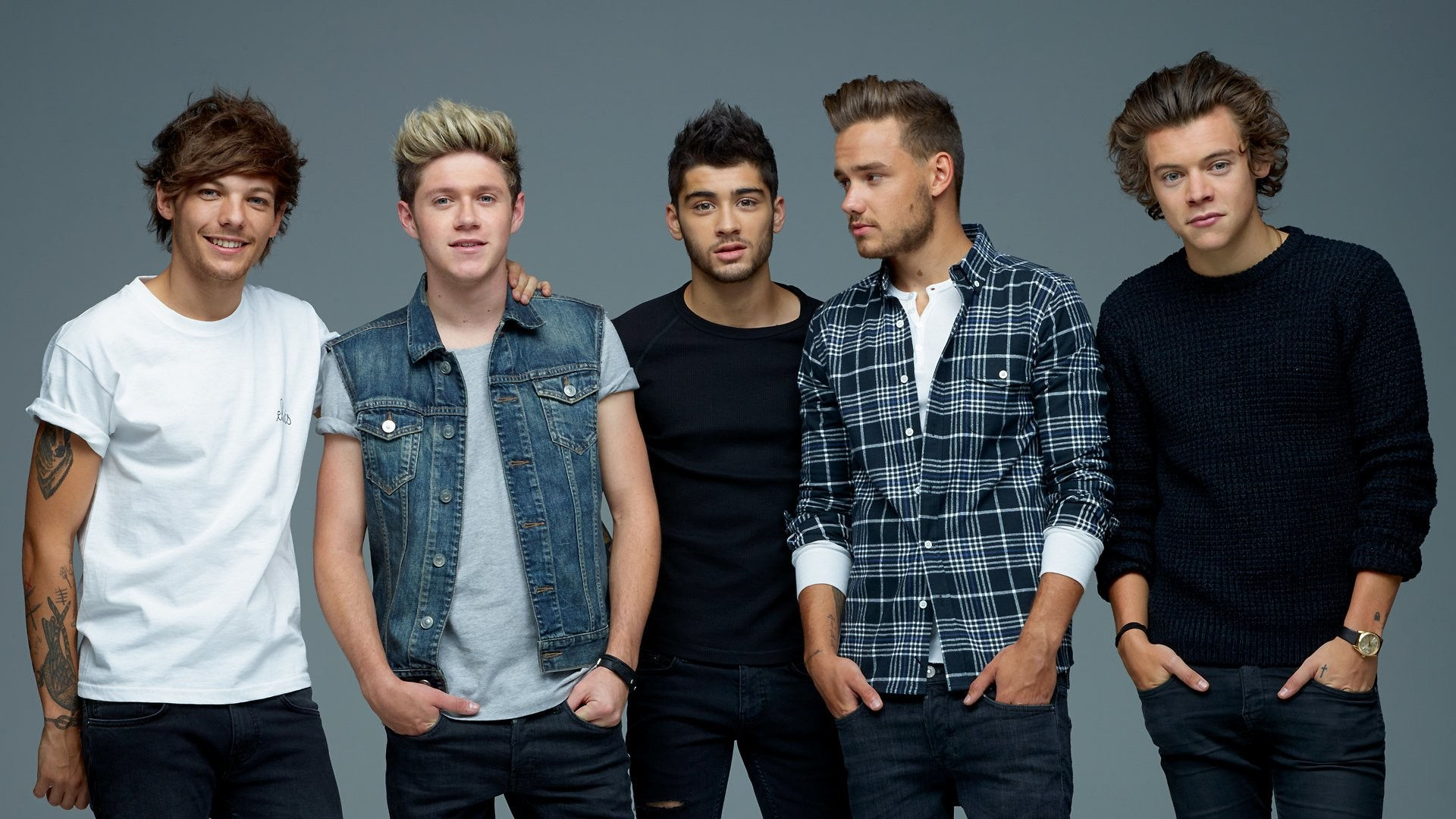 1920x1200 One Direction 2014 Wallpaper