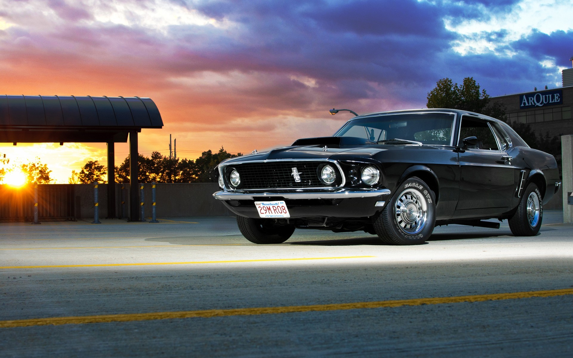 1920x1200 Muscle Car Wallpaper Desktop Background #5K7