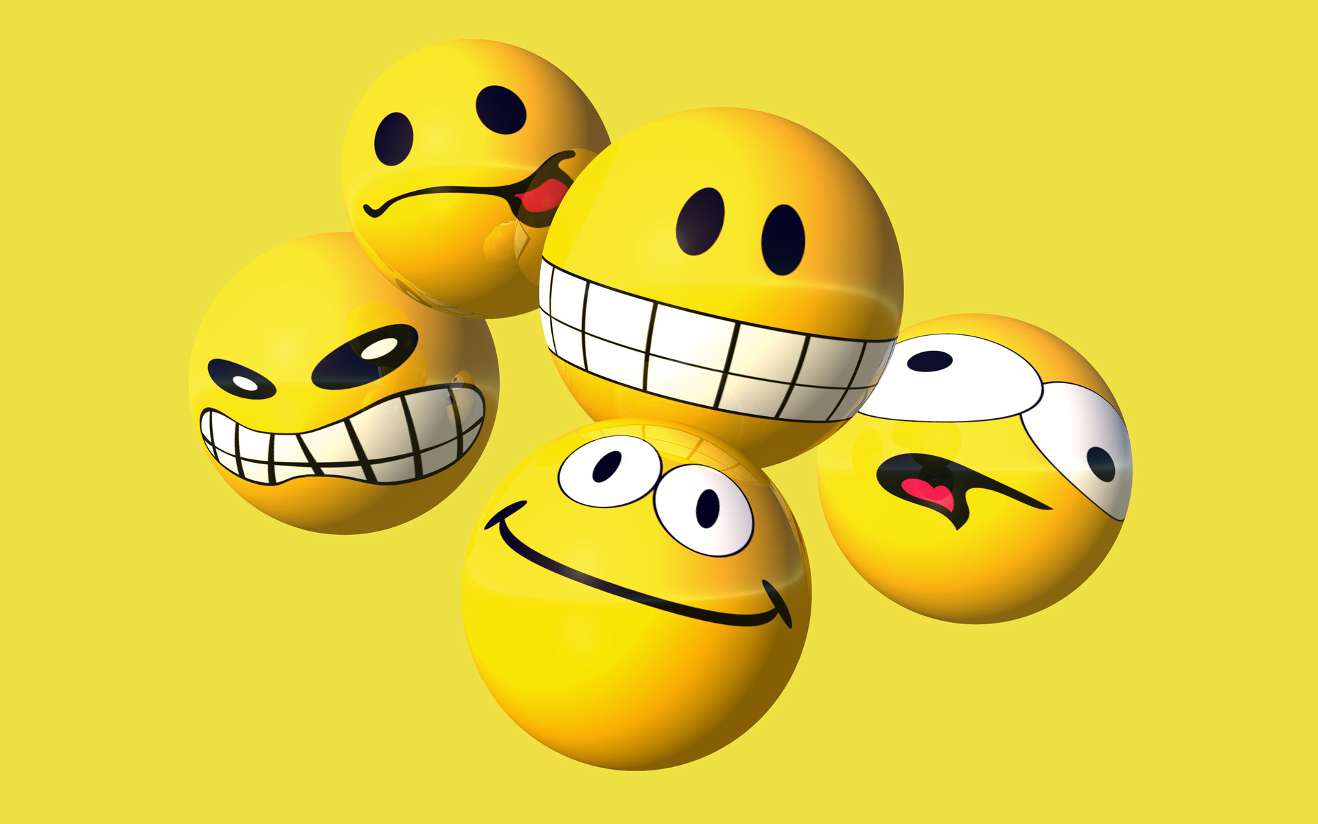 1920x1200 Funny Smiley Wallpaper Desktop