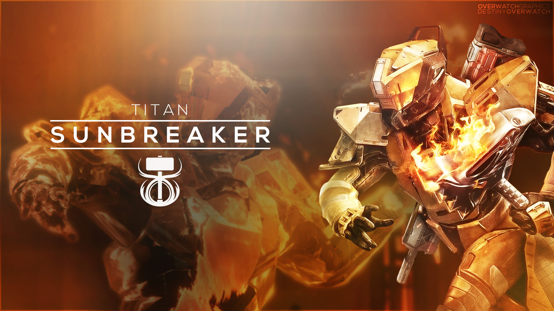 1920x1080 Destiny the Game - Sunbreaker Wallpaper by OverwatchGraphics