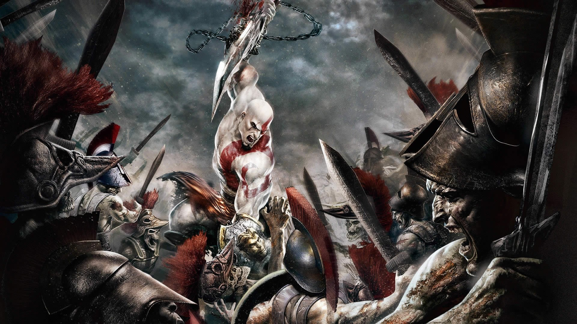 1920x1080 undefined Kratos God Of War Wallpapers Wallpapers)