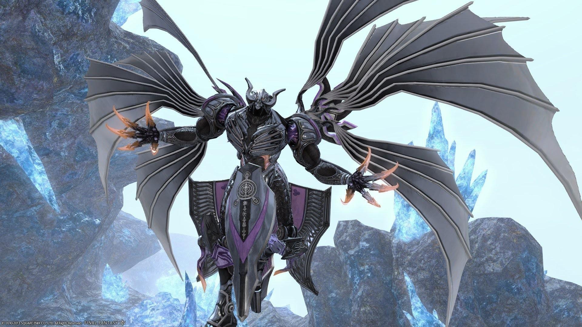 Final Fantasy Bahamut Artwork