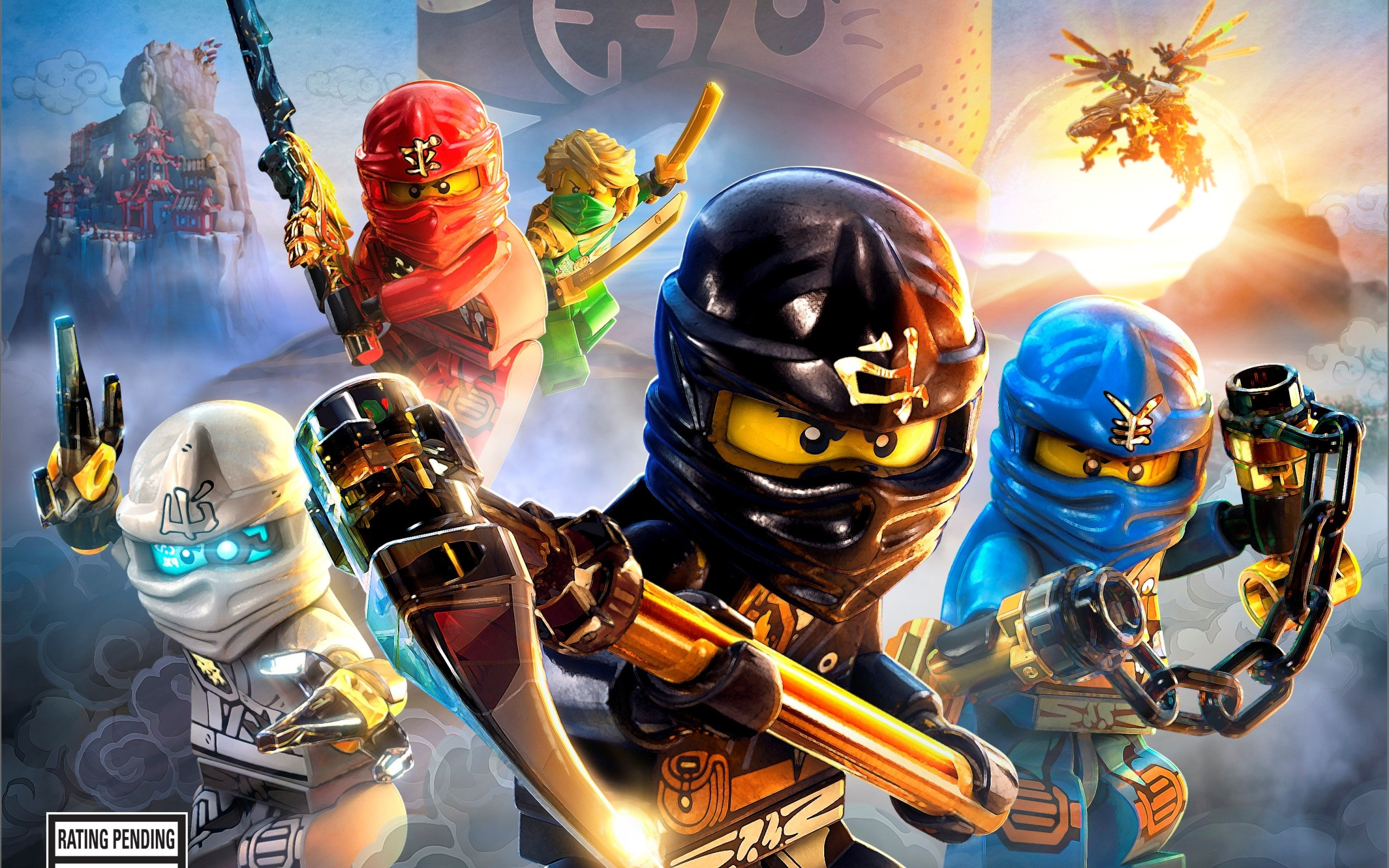 2560x1600 LEGO Ninjago Wallpaper
