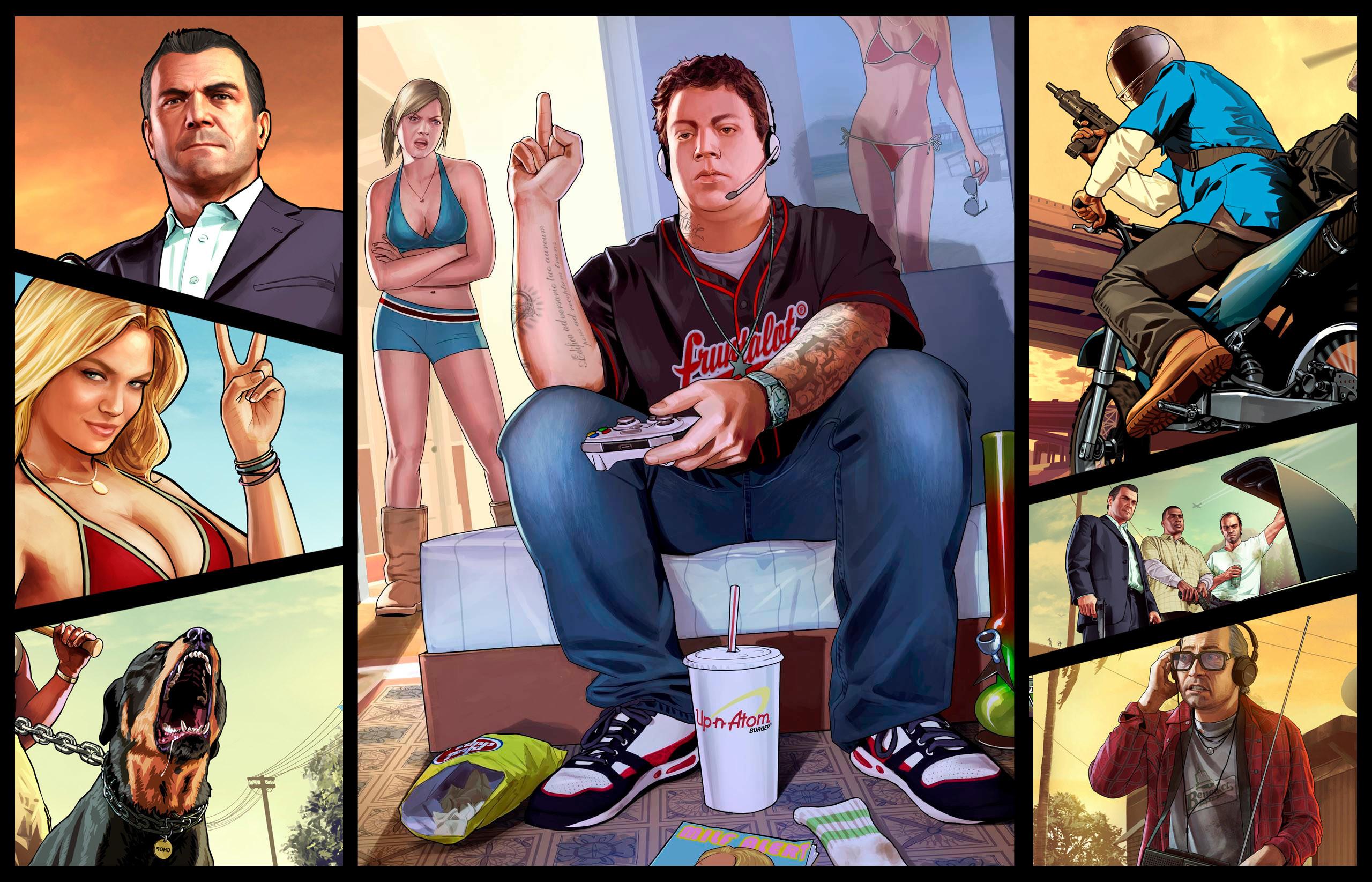 Grand theft auto wallpaper 73 images 1920x1200 1920x1200 wallpaper gta v grand theft auto v game bridge logo voltagebd Image collections