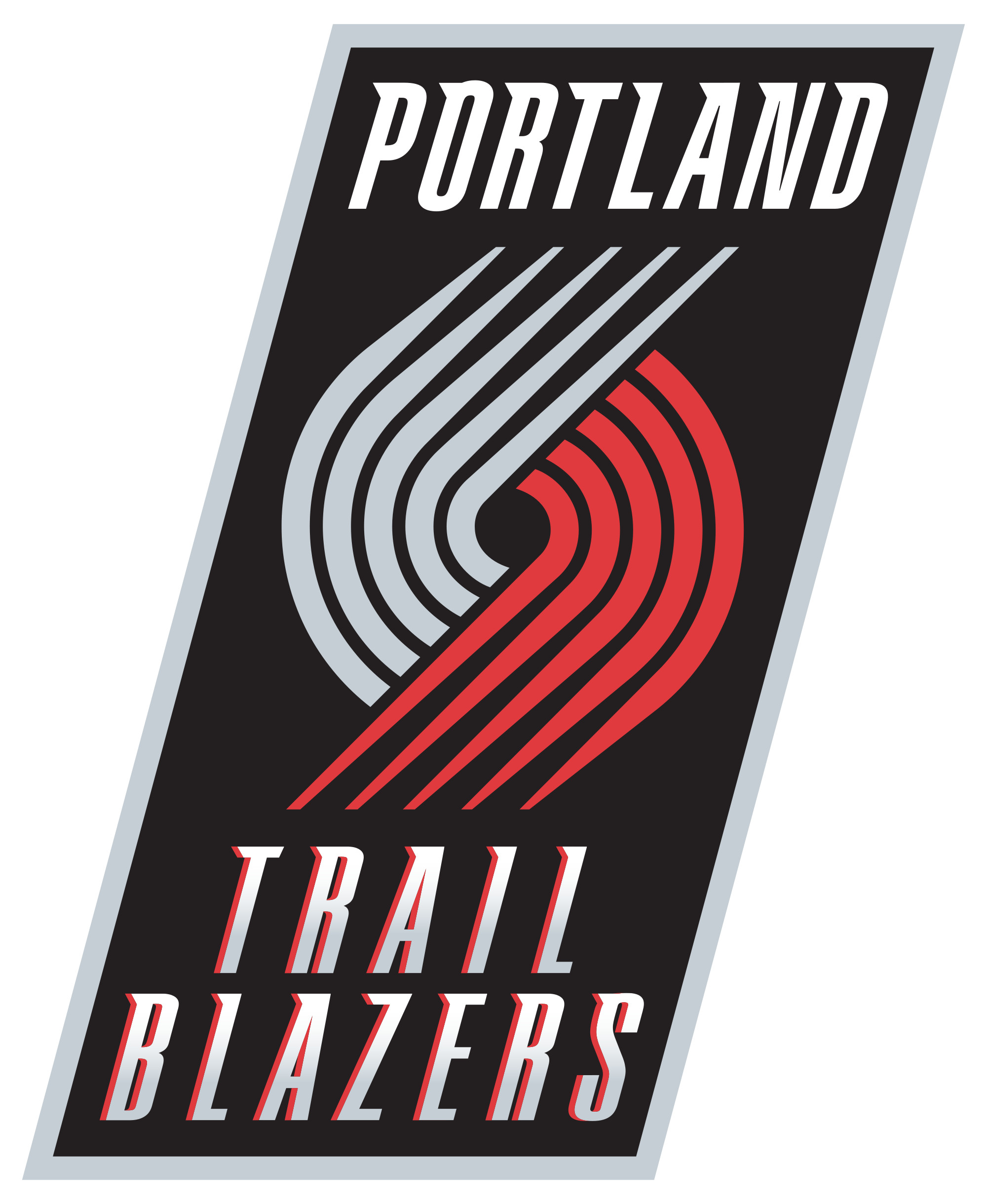 2000x2439 Portland Trail Blazers Logo Wallpaper