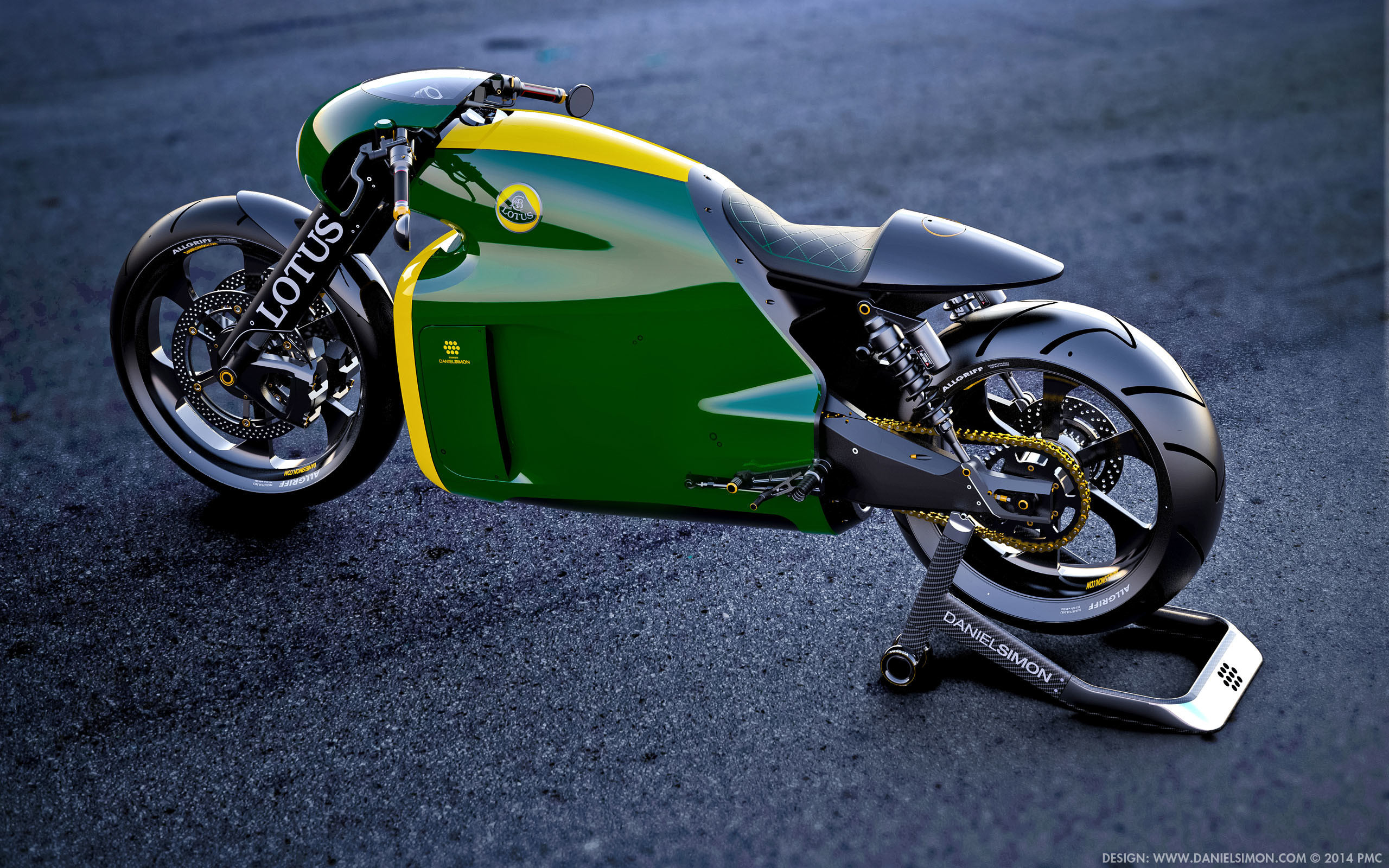 2560x1600 Wallpaper Lotus C 01 Motorcycle Design