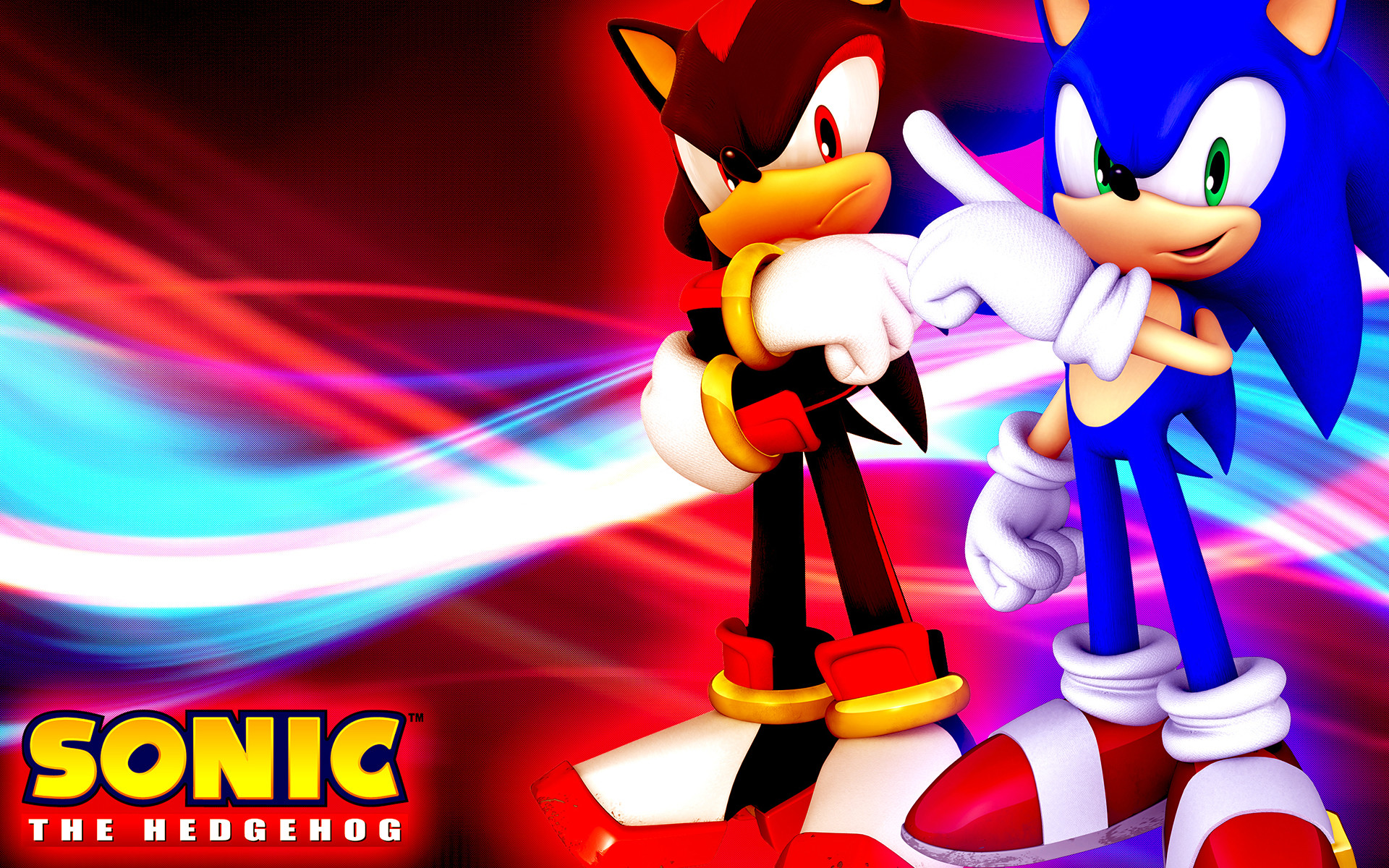 Sonic and shadow wallpaper 75 images - Sonic et shadow ...