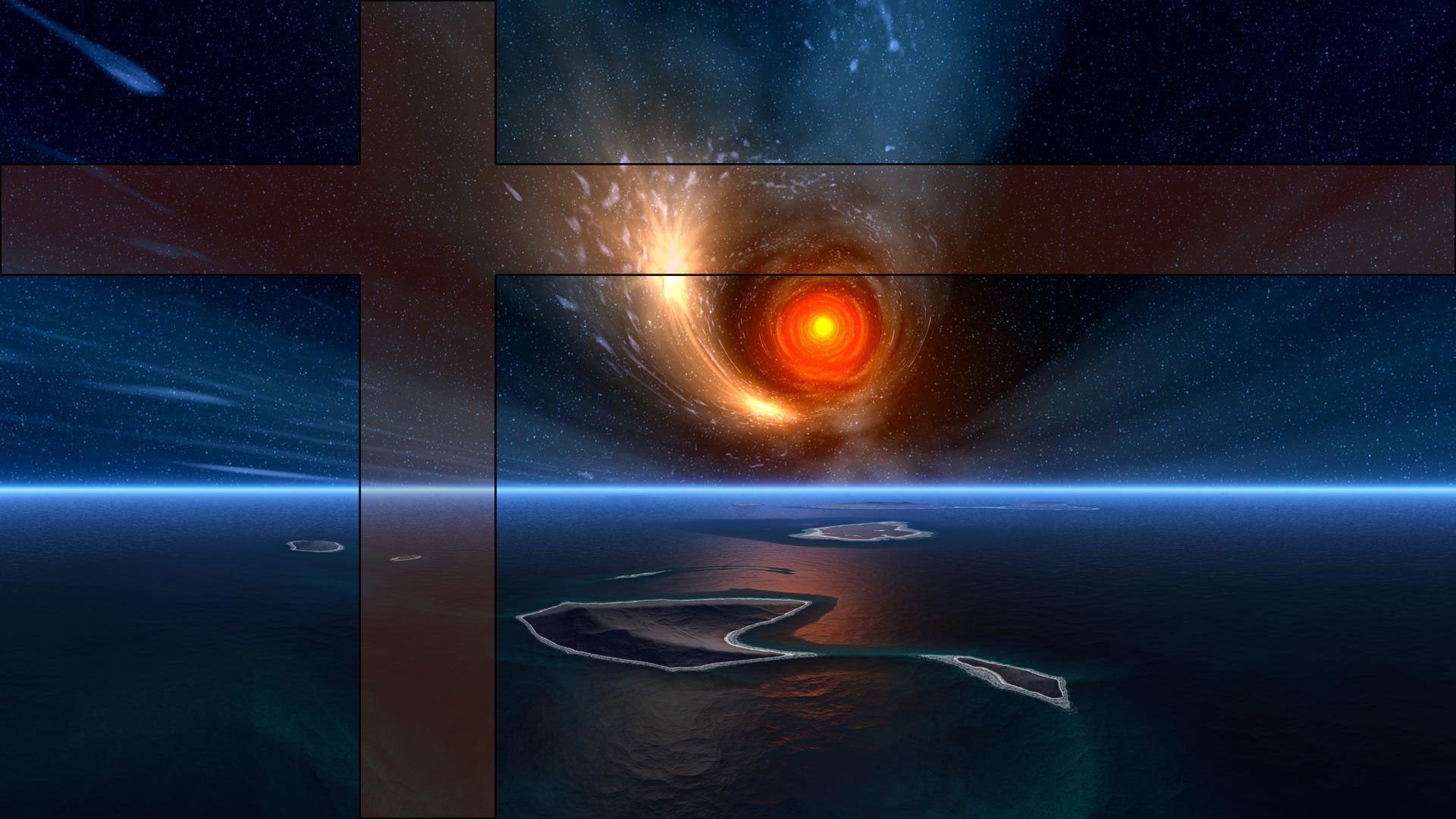 1920x1080 Space Vortex Wallpapers PS3 Wallpaper Installation Directions
