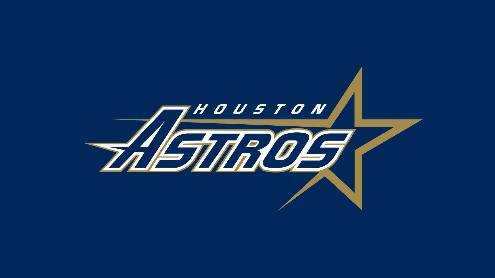 1920x1080 Wallpaper: Houston Astros Logo HD Wallpaper. Upload at April 27, 2014 .