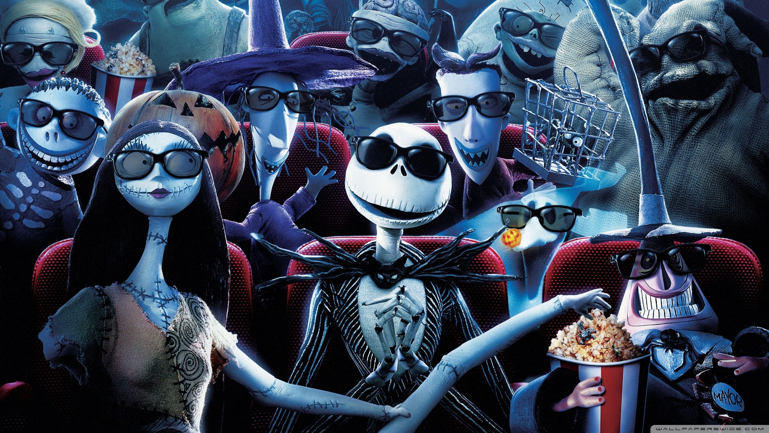 The Nightmare Before Christmas Backgrounds 61 Images