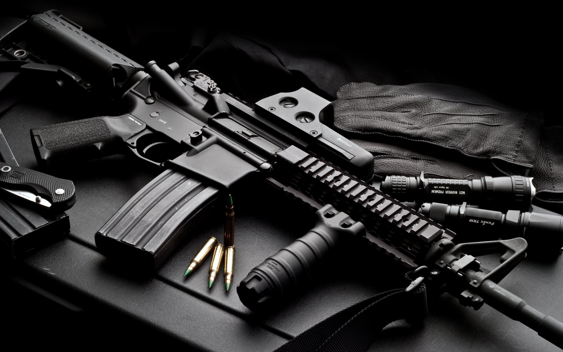 1920x1200 HD Wallpaper | Background ID:96814.  Weapons Colt AR-15