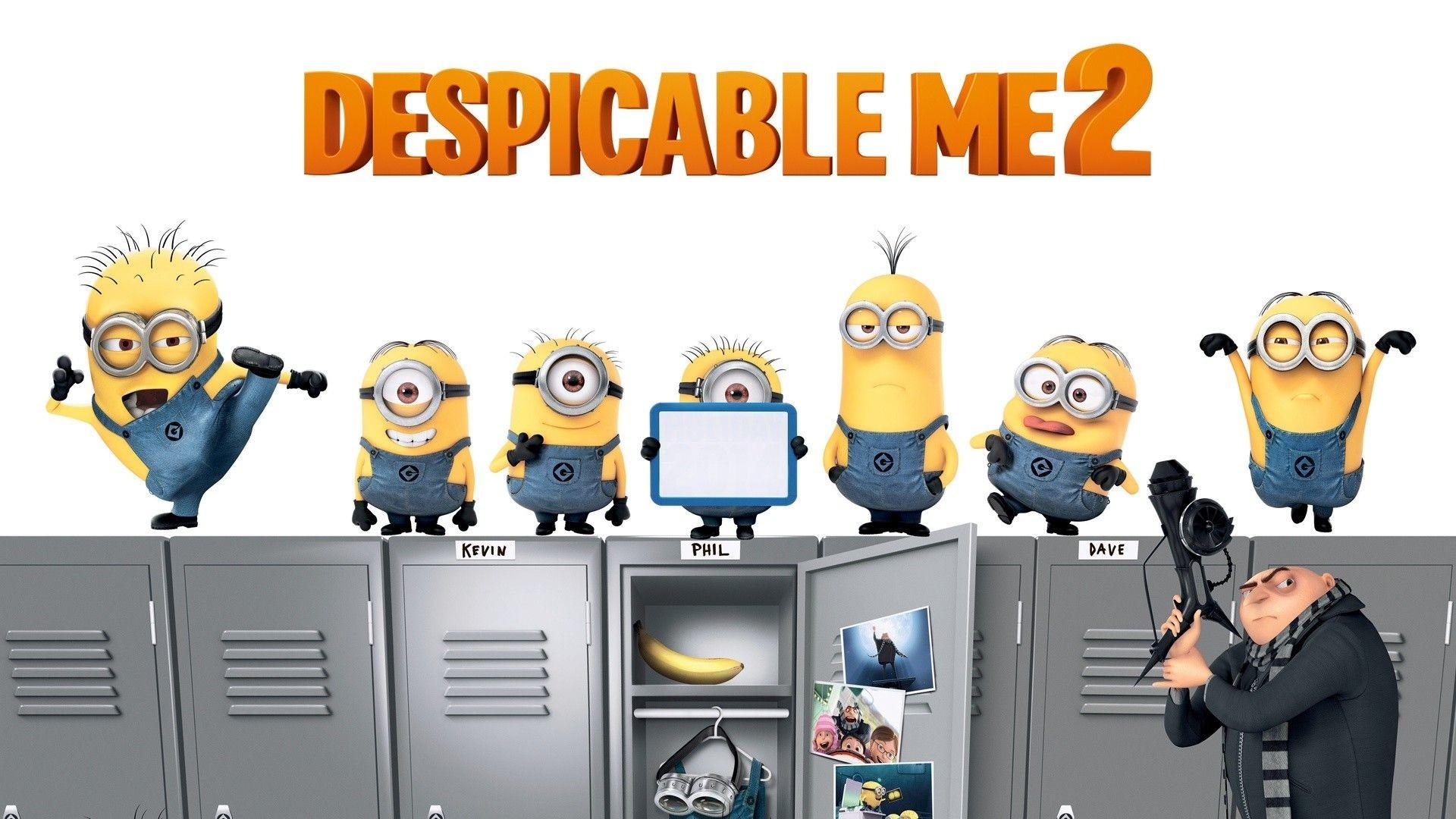 2880x1800 Despicable Me Minions
