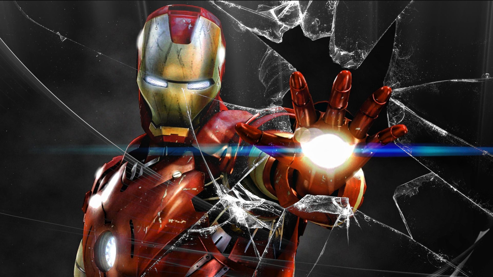 1920x1080 Iron Man 4K Wallpaper