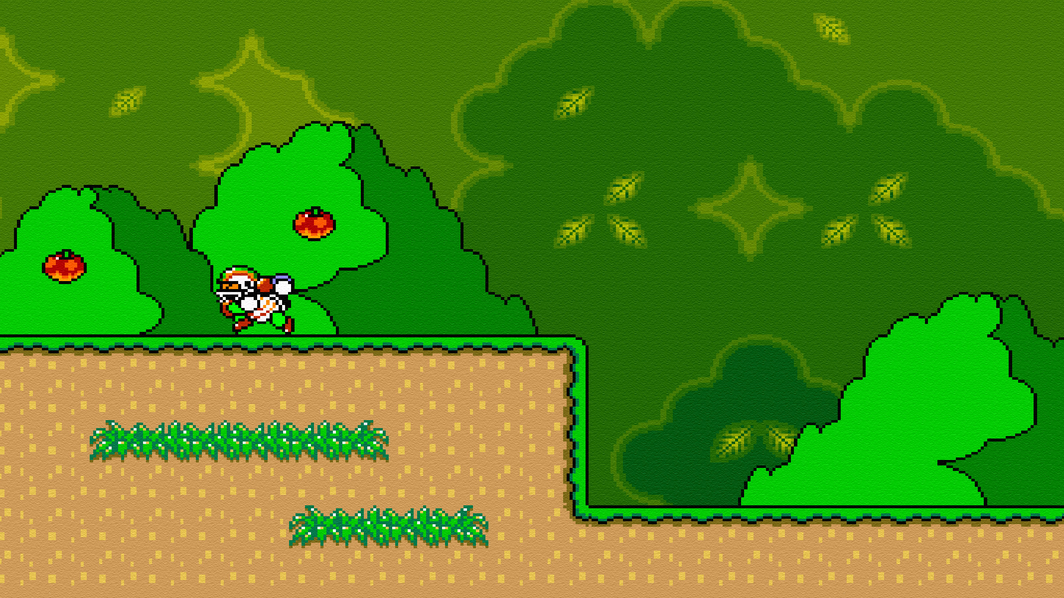 2135x1200 And each one can have it's own wallpaper. This opens up the doors for…  MEGAPAPERS! NOTE: Super Mario World ...