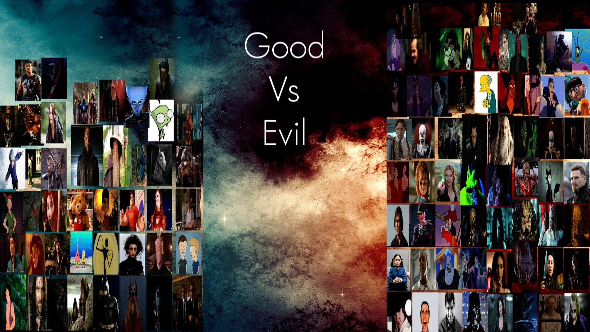 1920x1080 Good Vs Evil Meme by Normanjokerwise Good Vs Evil Meme by Normanjokerwise