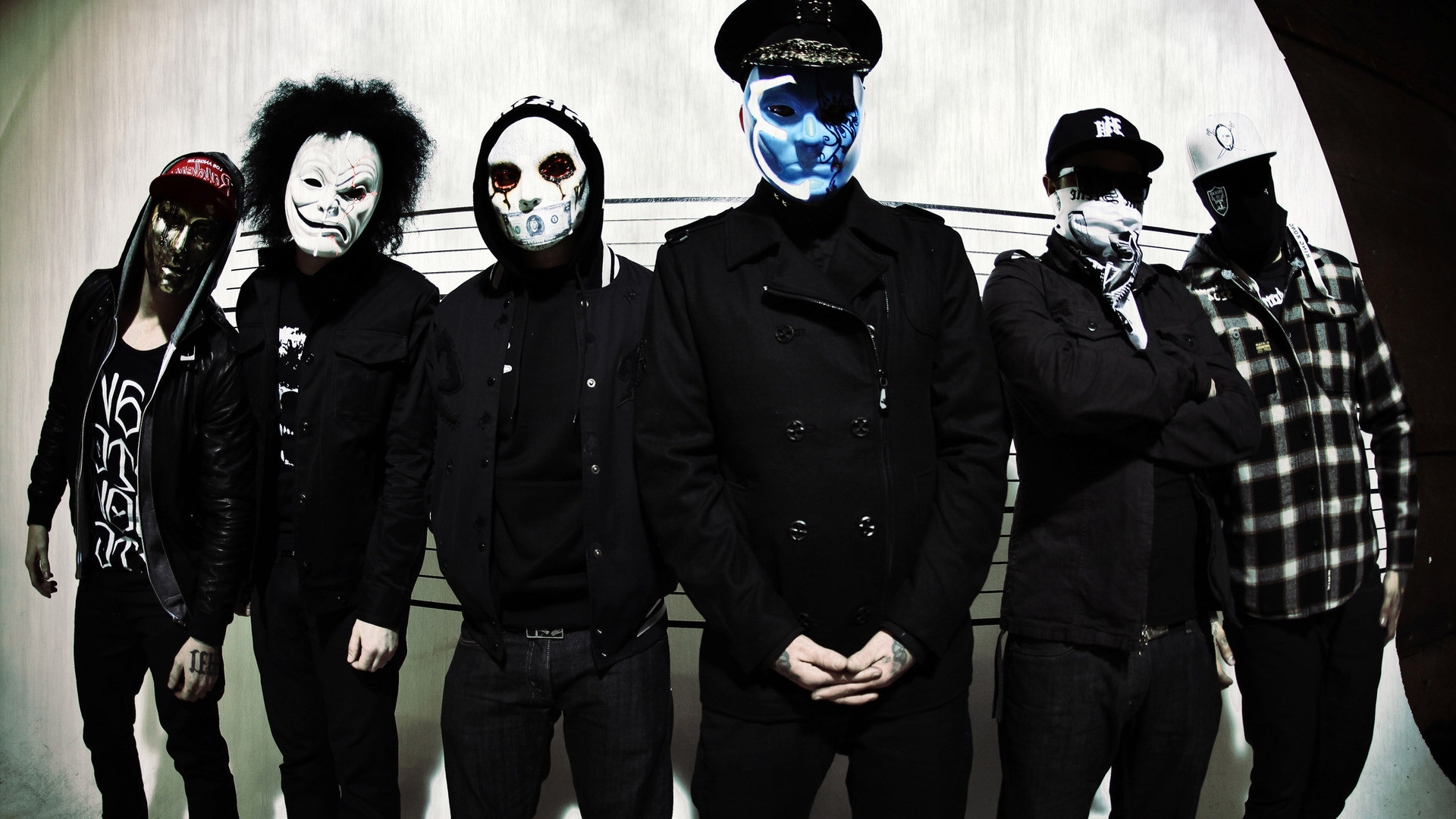 1920x1080 Hollywood Undead Wallpaper