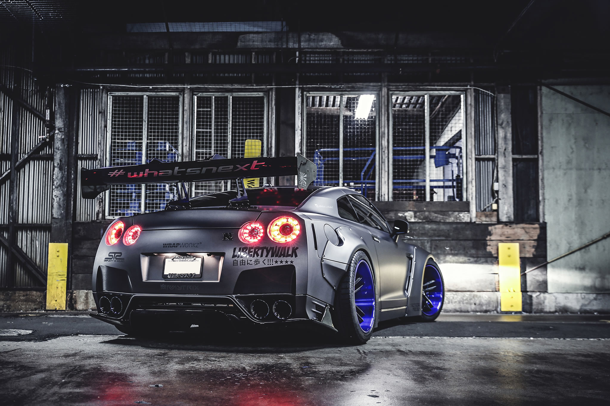 2048x1365 2013 Nissan GT-R by Liberty Walk - rear photo, Marcel Lech Photography .