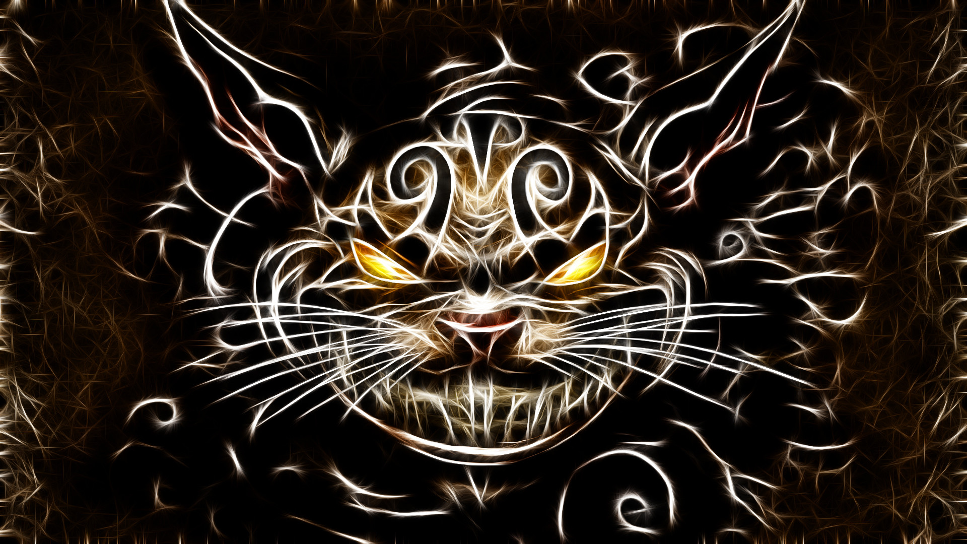 1920x1080 Image - Cats fractalius cheshire cat american mcgees alice desktop   hd-wallpaper-1197515.jpg | Creepypasta Wiki | FANDOM powered by  Wikia