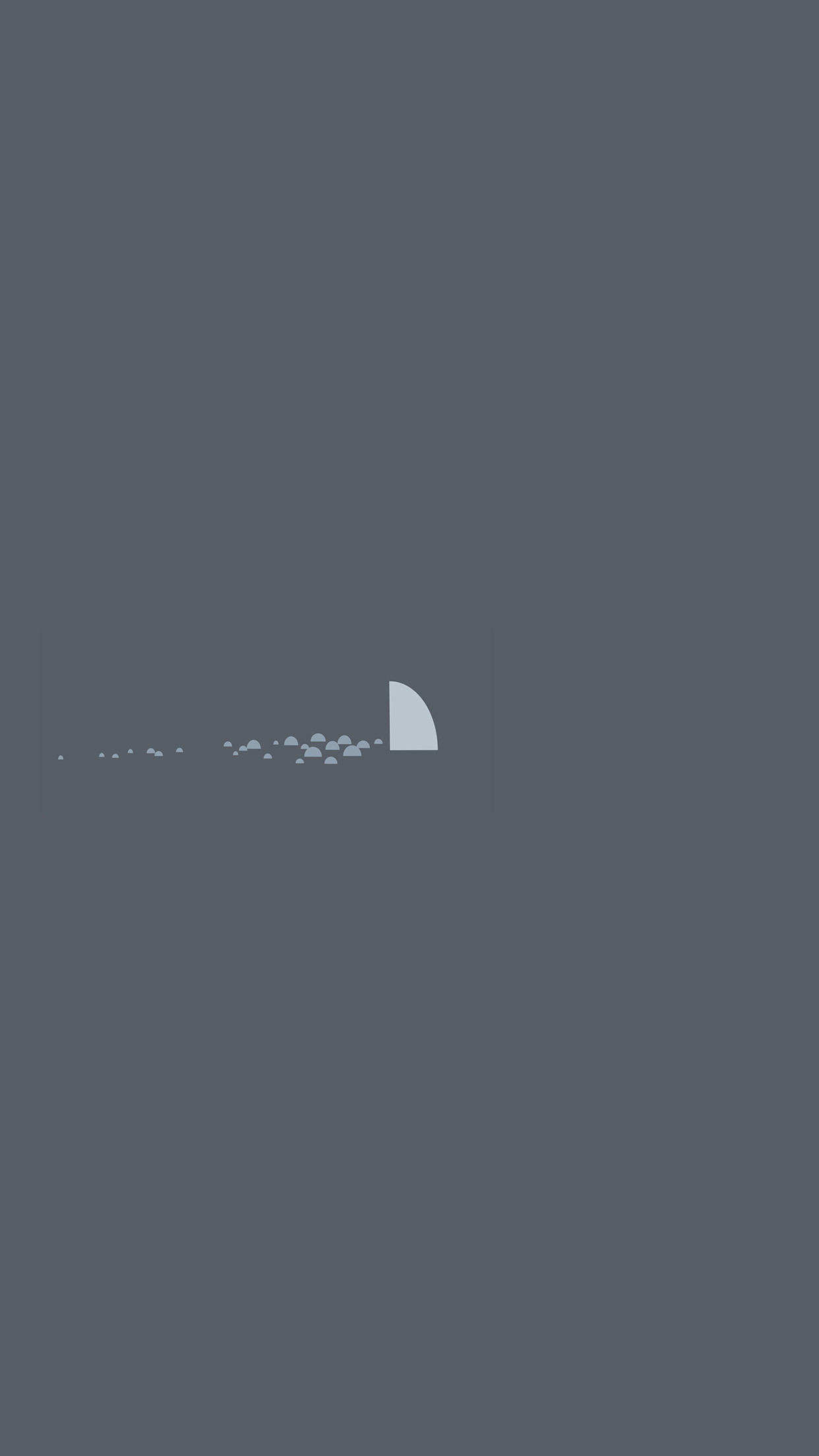 1242x2208 Iphone6papers An32 Minimal Simple Shark Sea Il Art