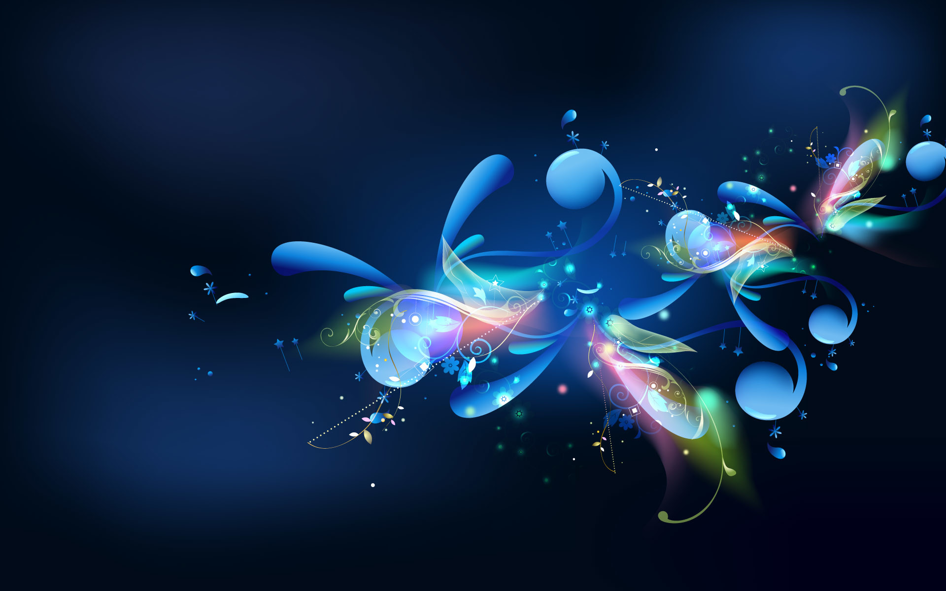 Blue Abstract Wallpaper For Pc 56 Images