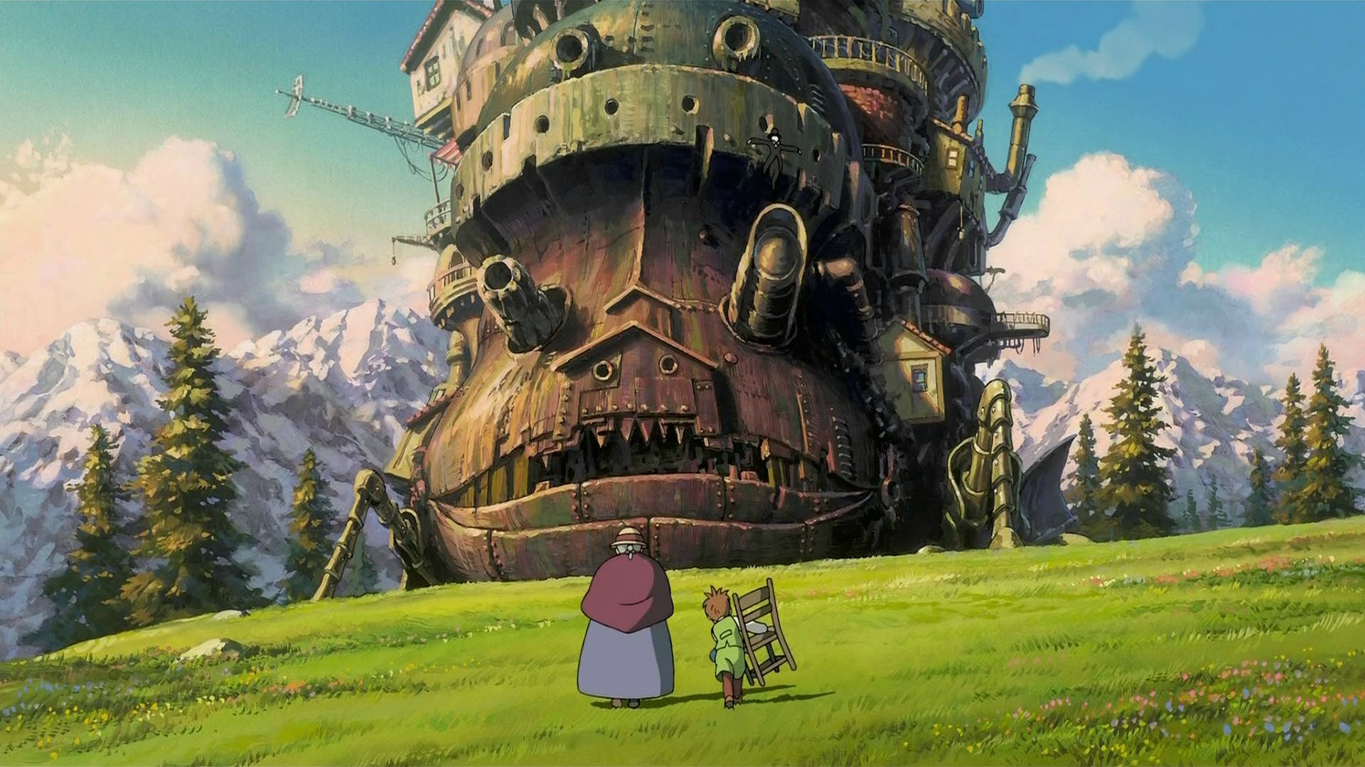1920x1080 Howl's Moving Castle ...
