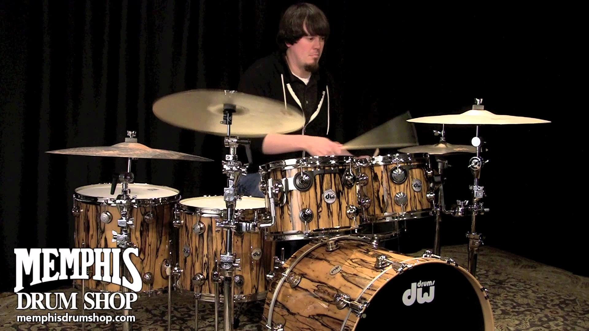 1920x1080 DW Collector's Series Exotic Ivory Ebony Drum Set 22/10/12/14/16 - YouTube