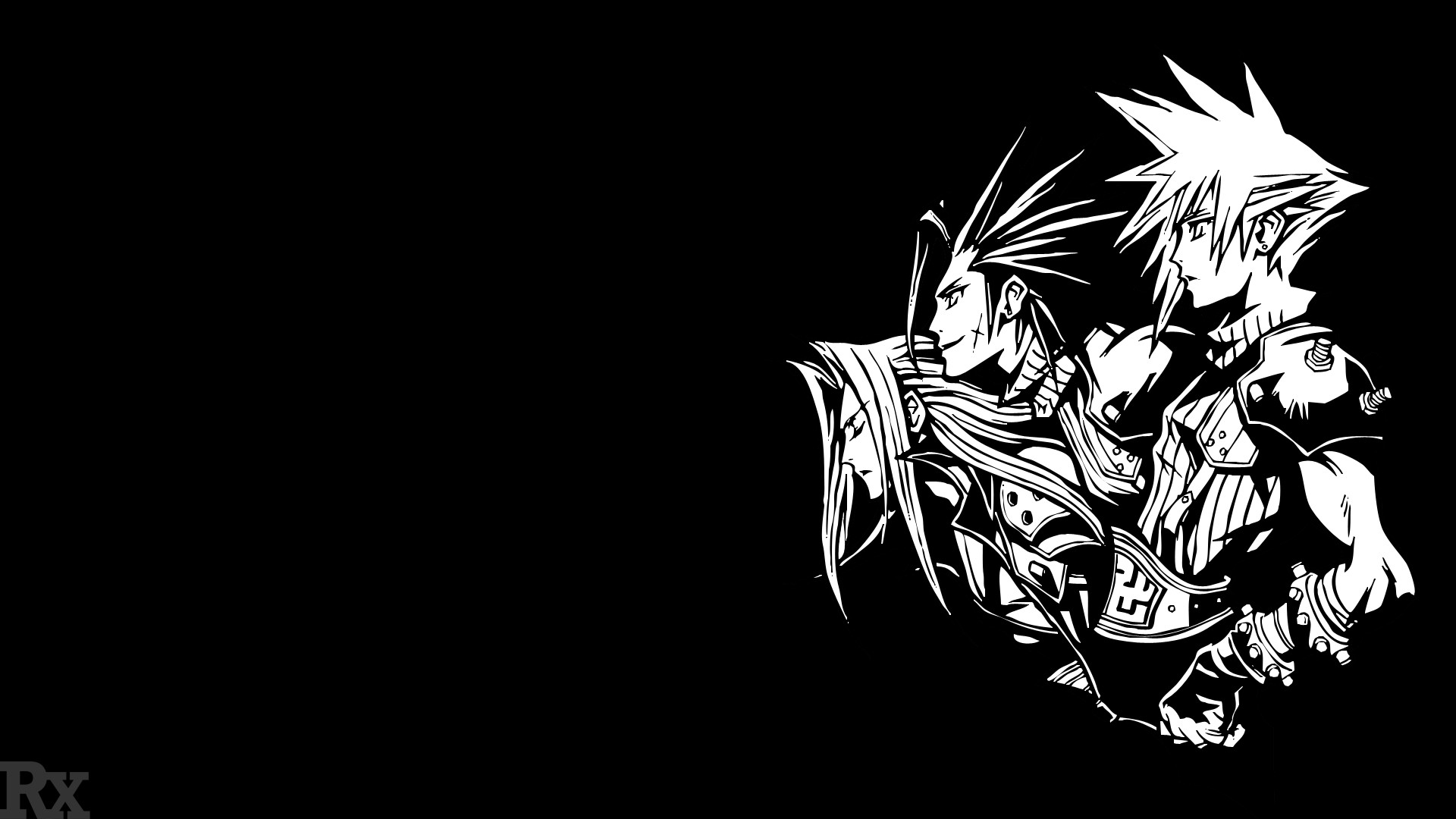 1920x1080 ... RaileysXerilyasRX Final Fantasy VII - 10th Anniversary Logo by  RaileysXerilyasRX