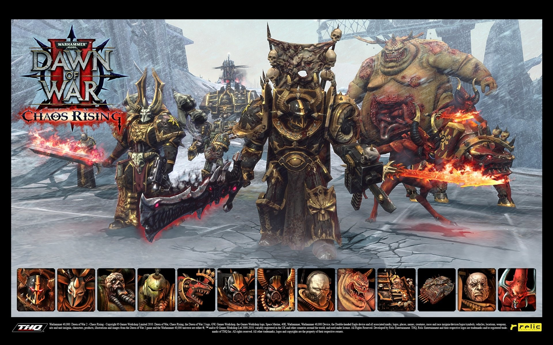 1920x1200 Wallpaper zu Warhammer 40.000: Dawn of War 2 - Chaos Rising herunterladen