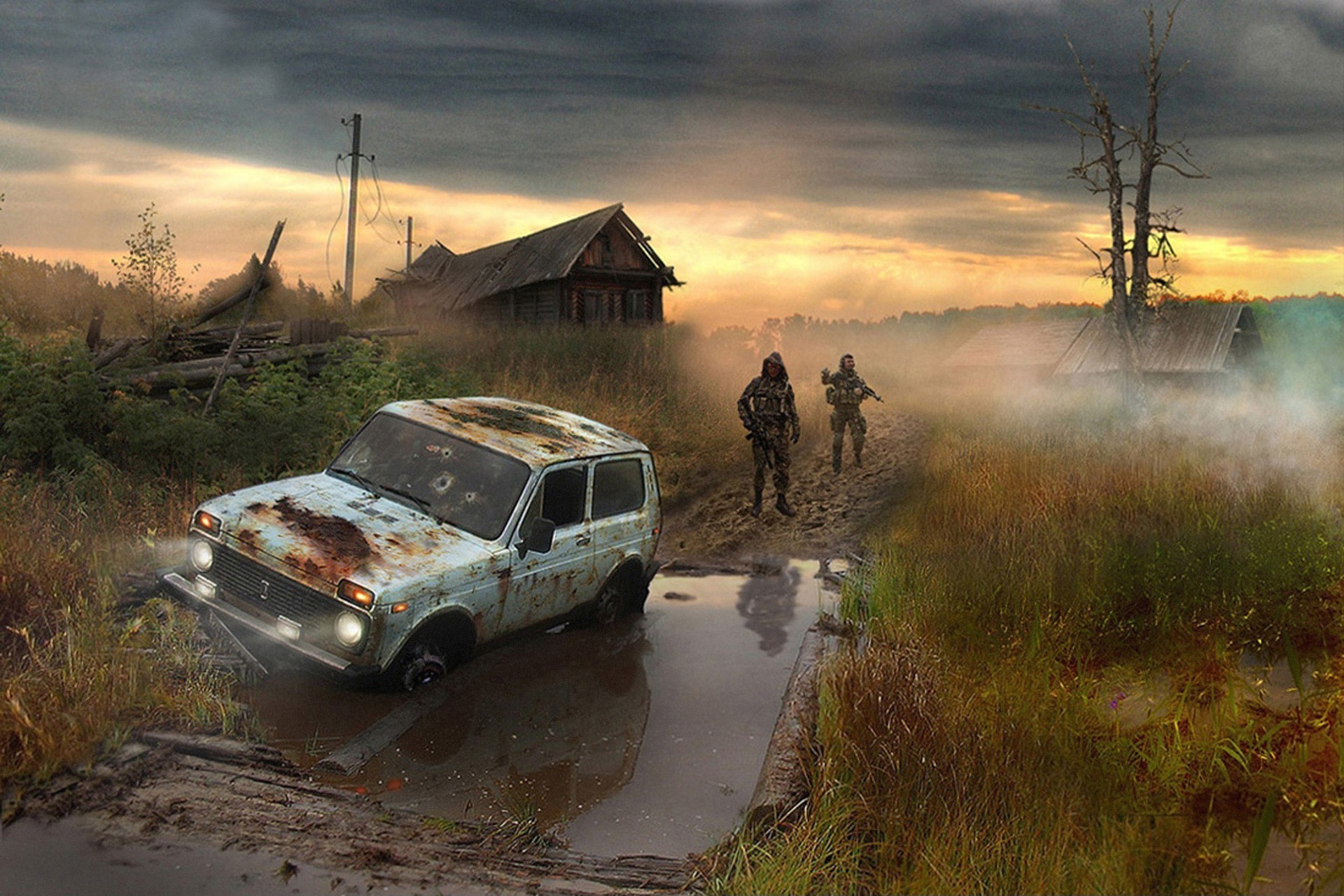 1920x1280 S.t.a.l.k.e.r. cars vehicles wallpaper