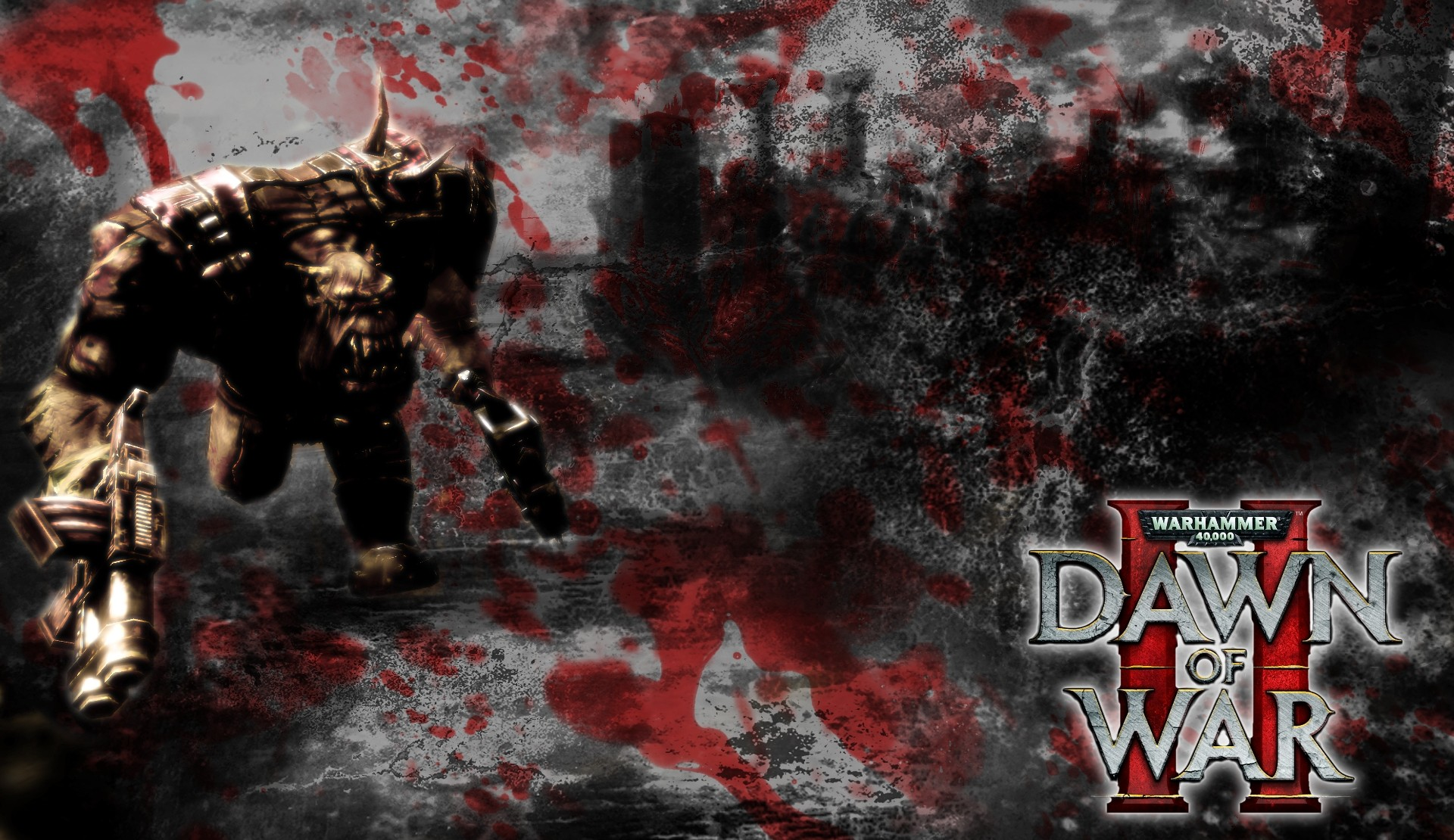 1920x1110 Add media Report RSS Ork wallpaper DOW2 (view original)