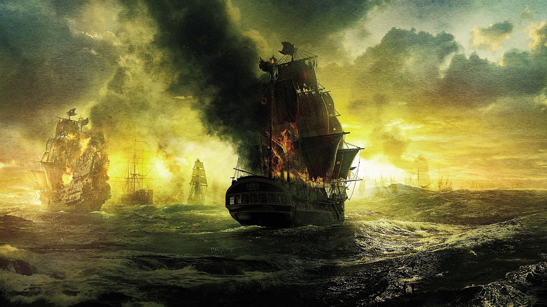 1920x1080 pirates-ship-on-fire-wallpaper (.