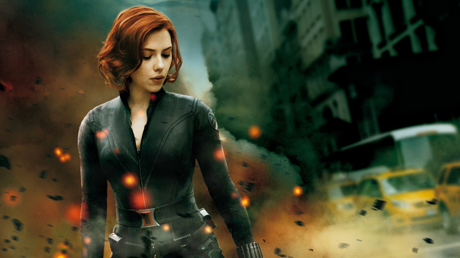1920x1080 Scarlett Johansson, Black Widow, Marvel Comics, The Avengers, Superheroines  Wallpapers HD / Desktop and Mobile Backgrounds